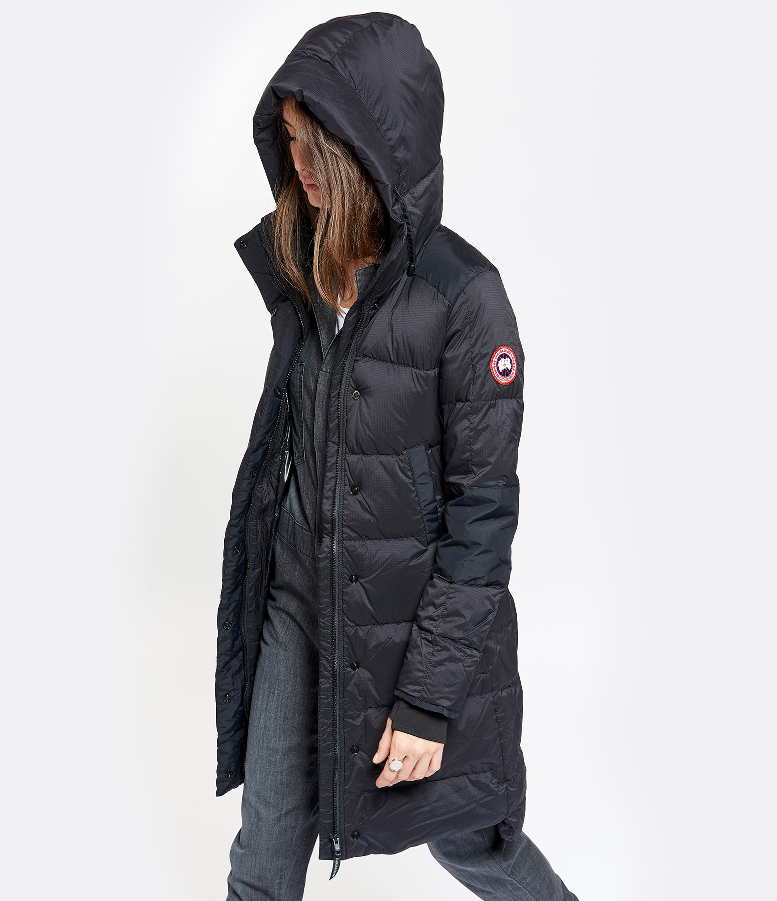 CANADA GOOSE - Manteau Alliston Noir
