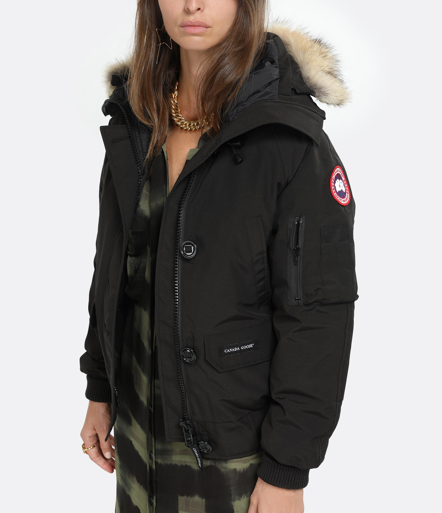 CANADA GOOSE - Veste Bomber Chilliwack Noir