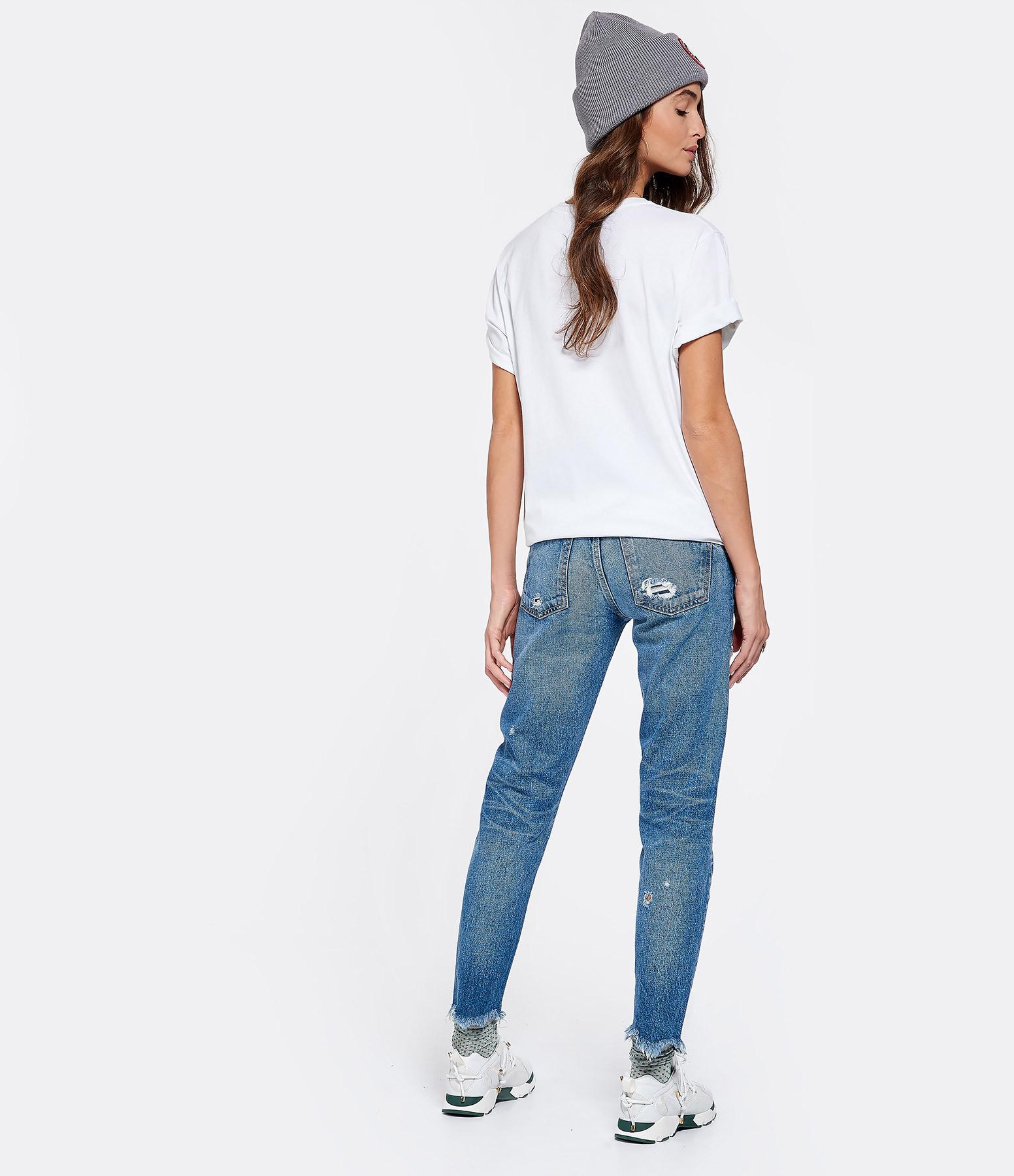 CARVEN - Tee-shirt Carré Blanc