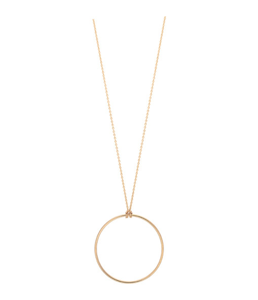 Collier Baby Cercle or rose - Ginette_ny