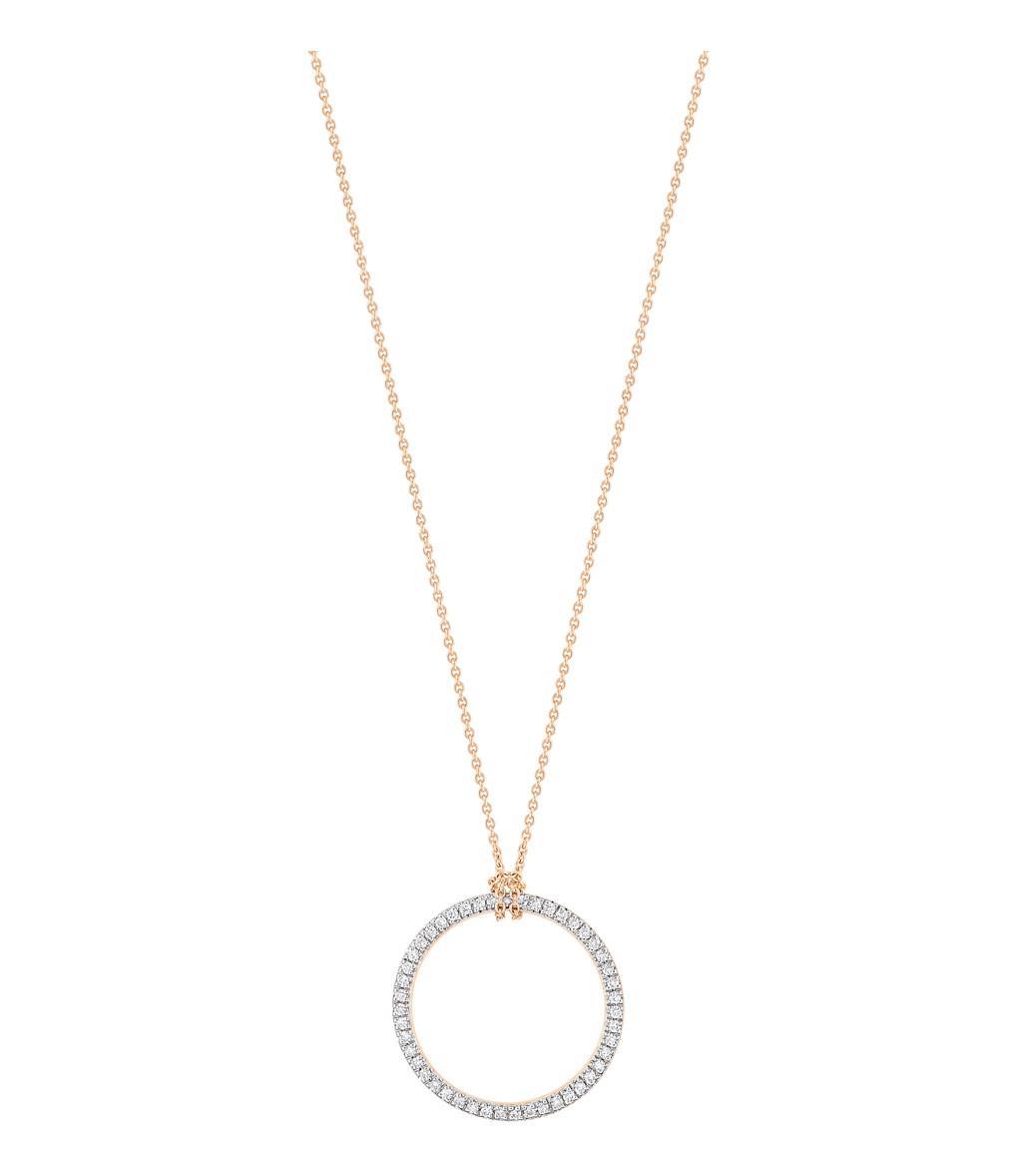 Collier Mini Diamond Cercle - GINETTE_NY