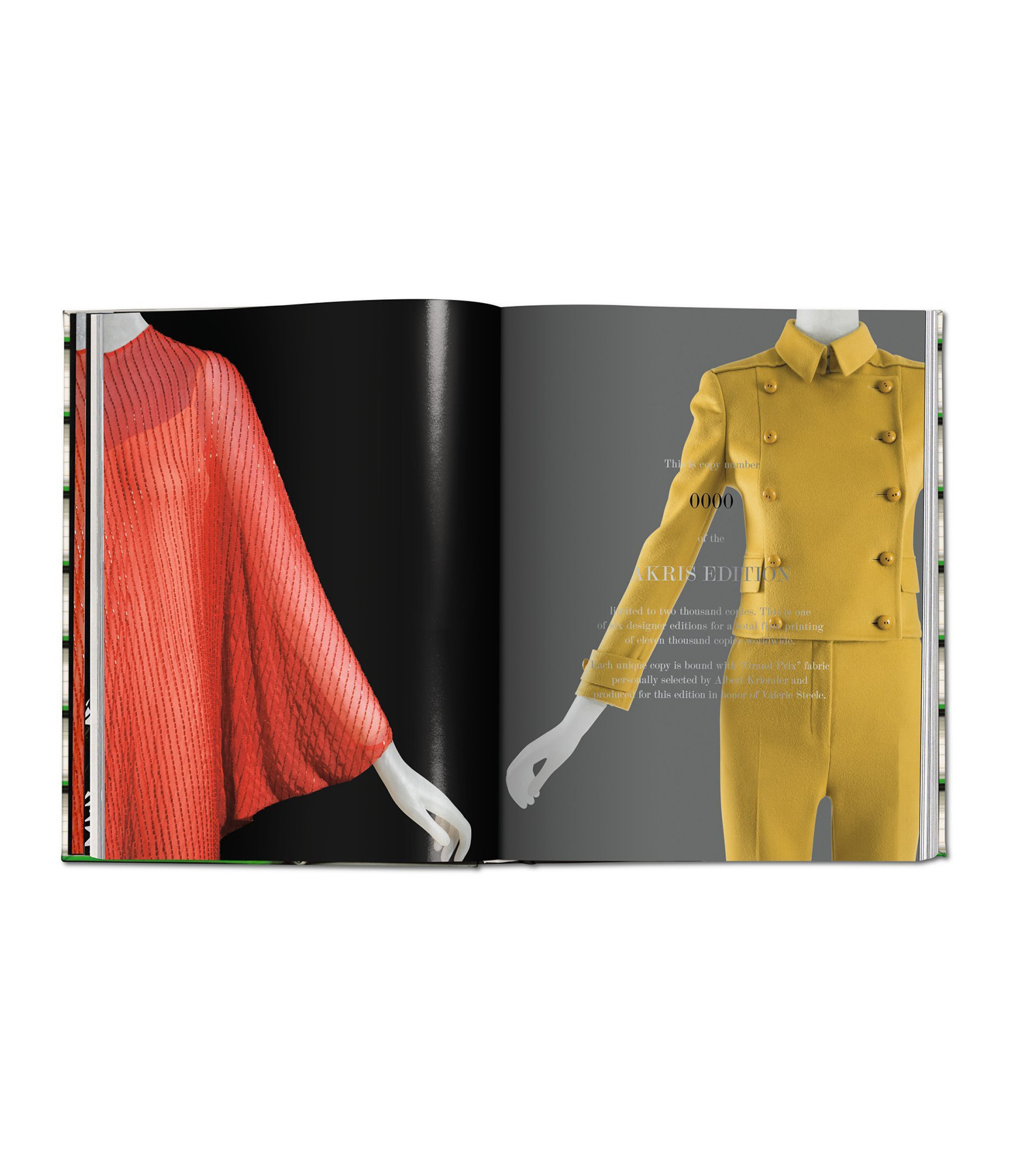 TASCHEN - Livre Fashion Designers A-Z Akris Edition