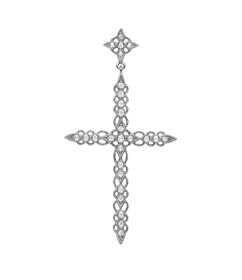STONE PARIS - Pendentif Céleste Diamants GM Or Noir
