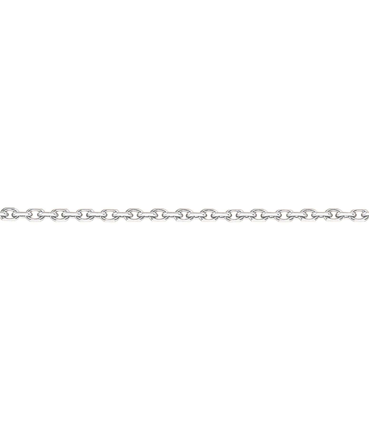 Chaîne Forçat Diamantée 55 cm - Stone