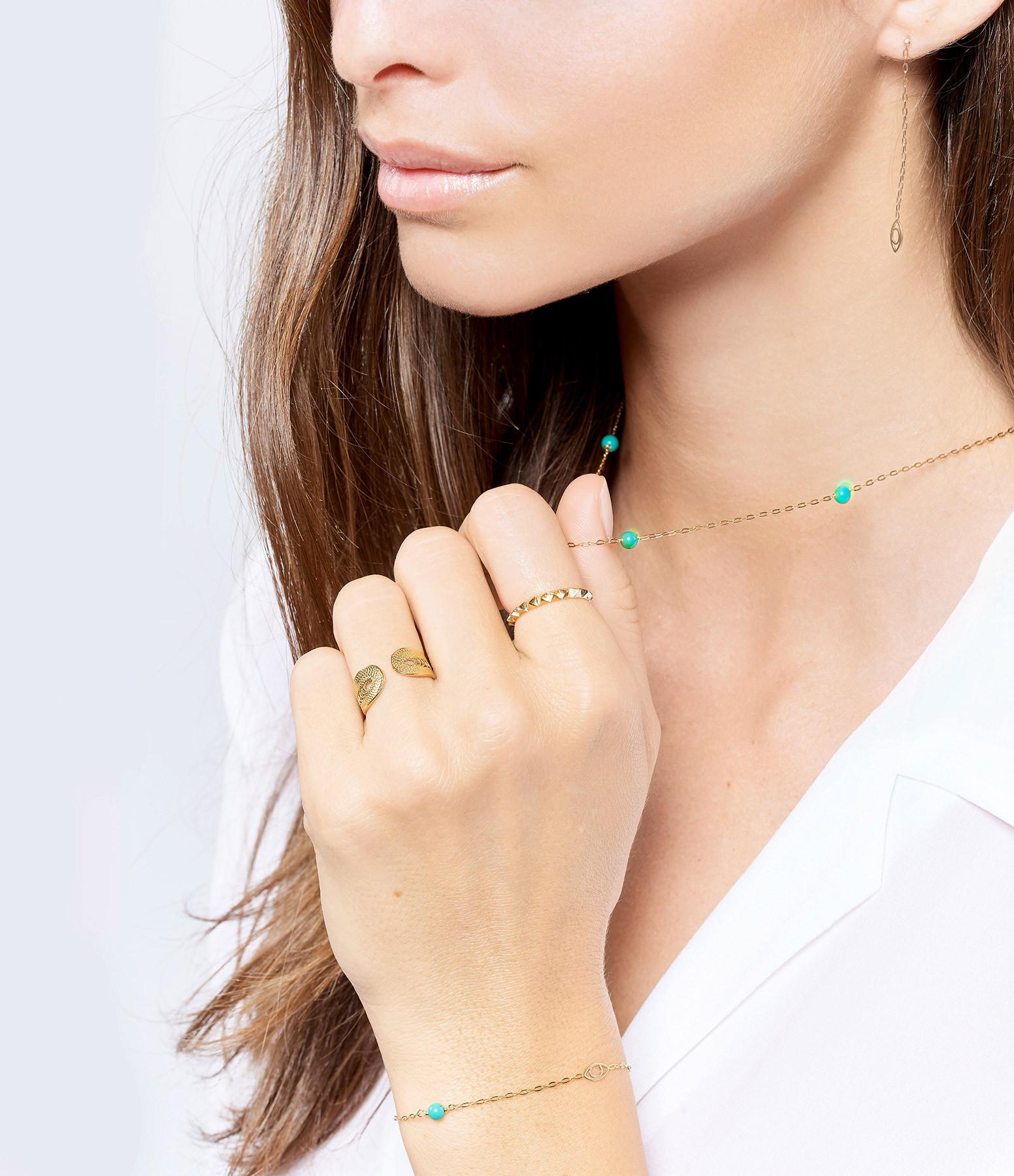 CHARLET - Bracelet Massilia Turquoise
