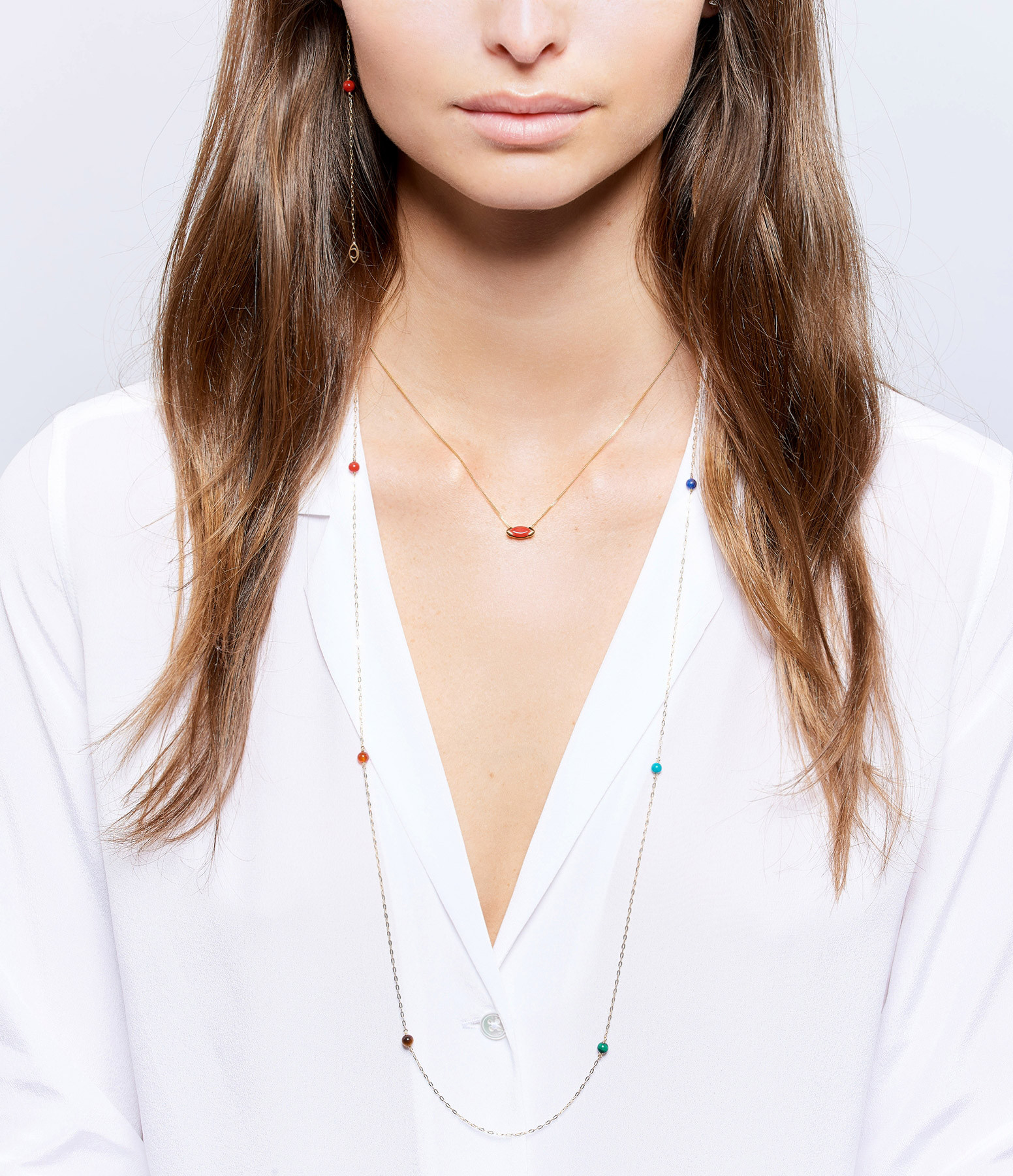 Collier Gaby Corail - CHARLET