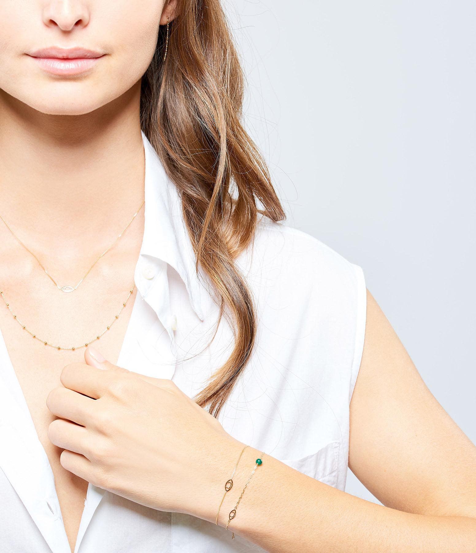 CHARLET - Bracelet Massilia Agate Verte