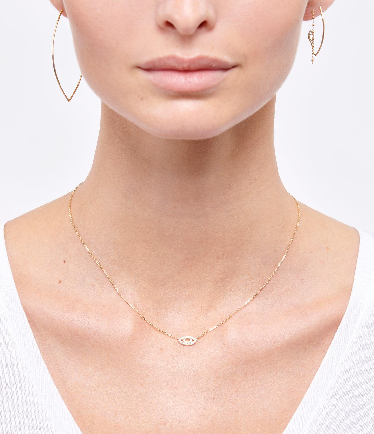 CHARLET - Demi-créole Iris Grand Modèle Or Jaune (vendue à l'unité)
