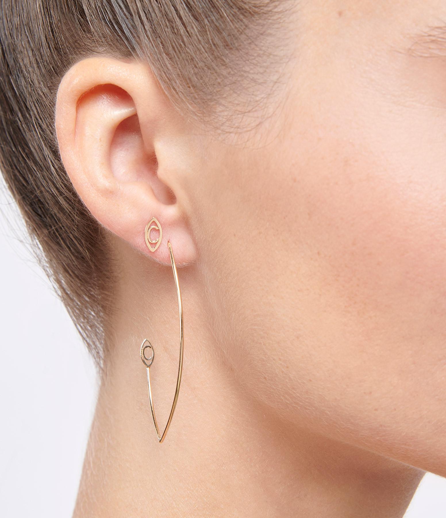Boucle d'oreille Iris (vendue à l'unité) - Charlet
