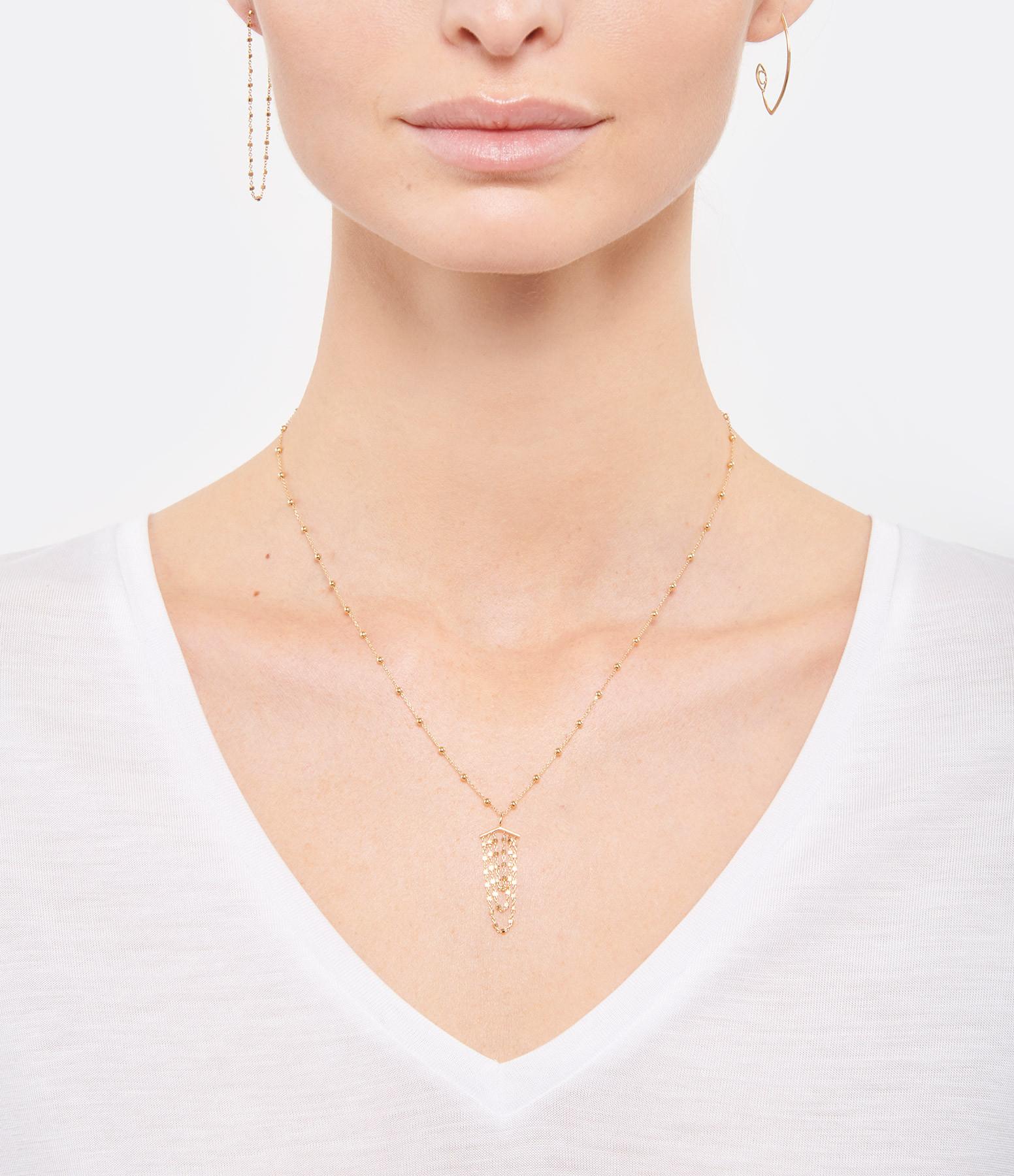 Boucle d'oreille Chaîne Diamantée 10 cm (vendue à l'unité) - CHARLET