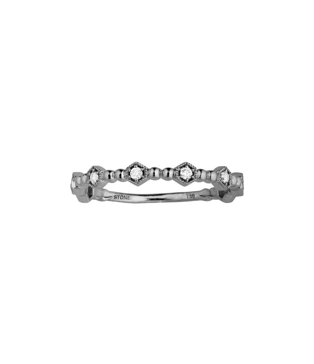 Bague Charmante Or Diamants - STONE