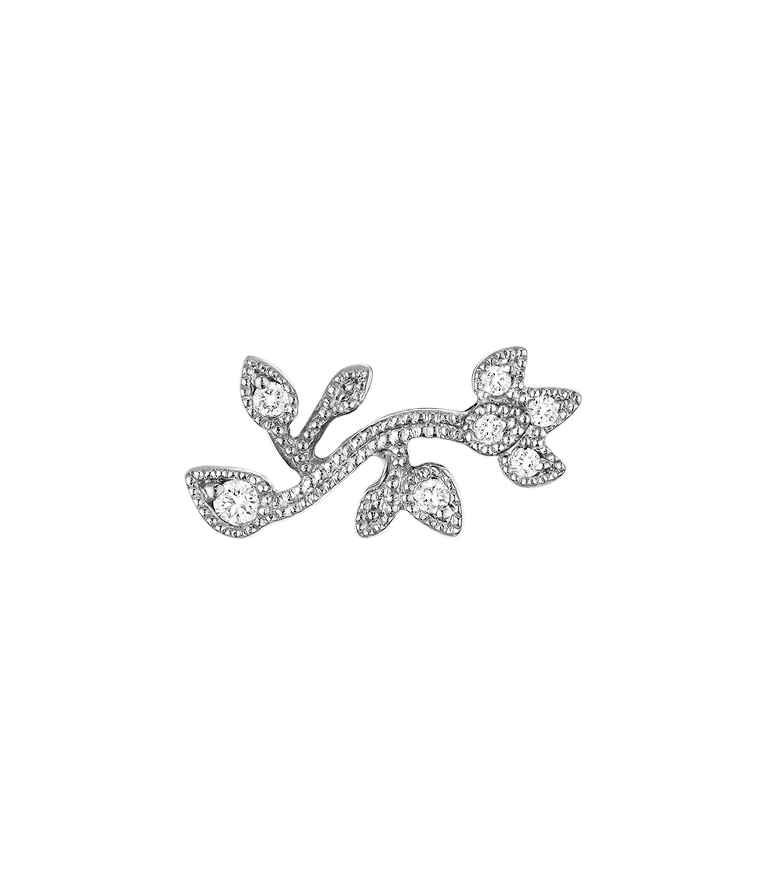 STONE PARIS - BO Bouton Cherry Blossom Diamants (vendue à l'unité)