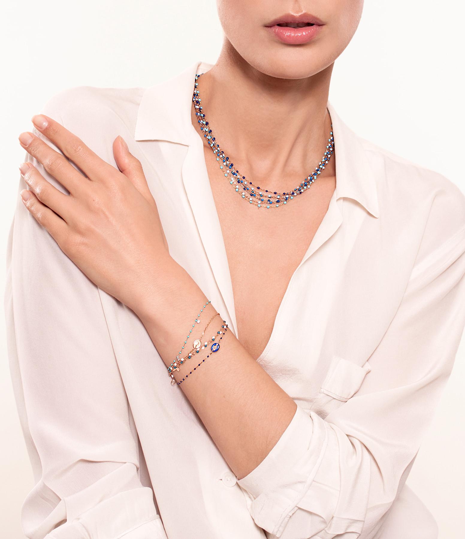 GIGI CLOZEAU - Bracelet Chaîne Croix Madone