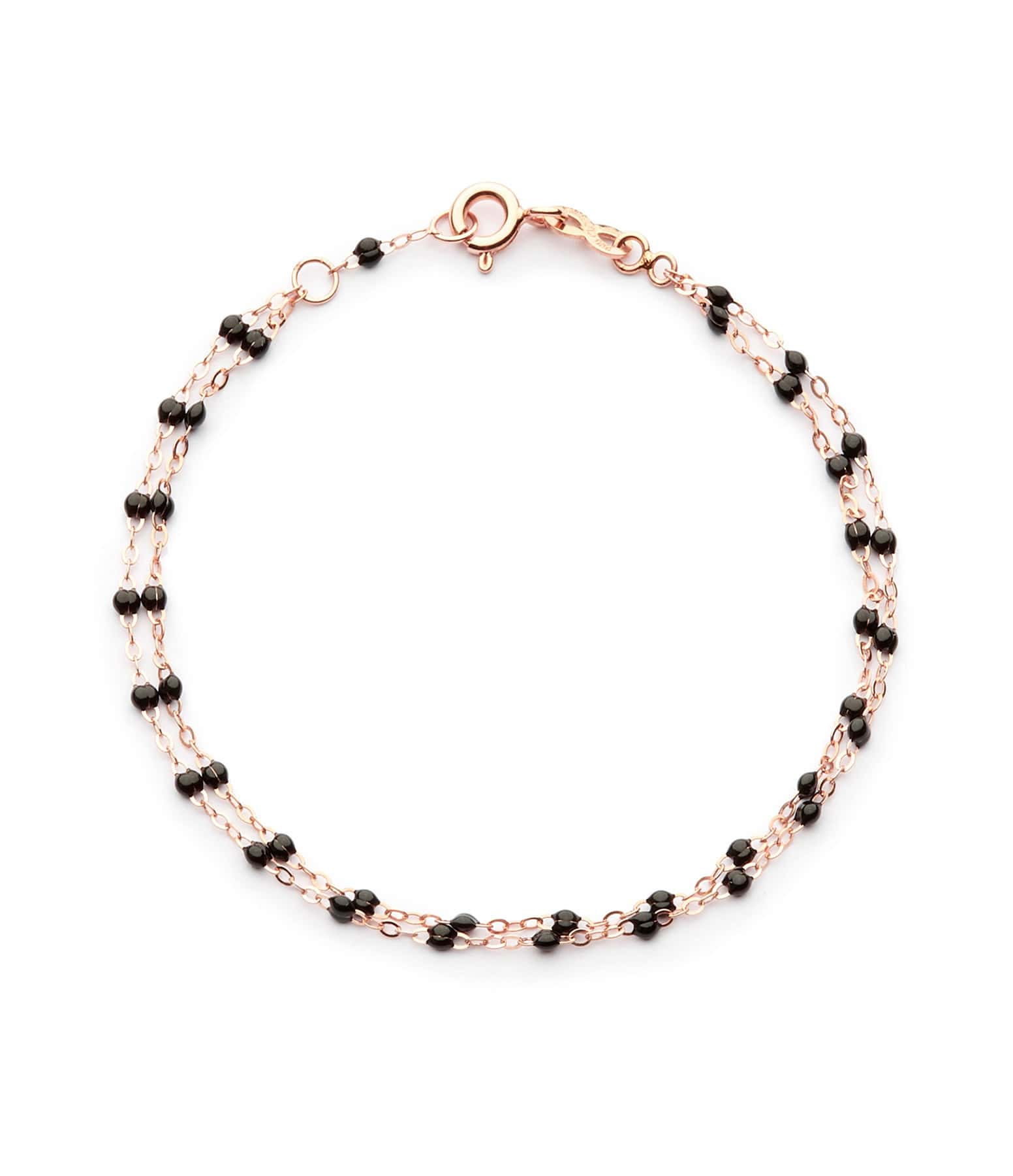 GIGI CLOZEAU - Bracelet Perles Résine Double, Exclusivité Lulli