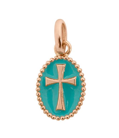 Médaille Croix Résine - GIGI CLOZEAU