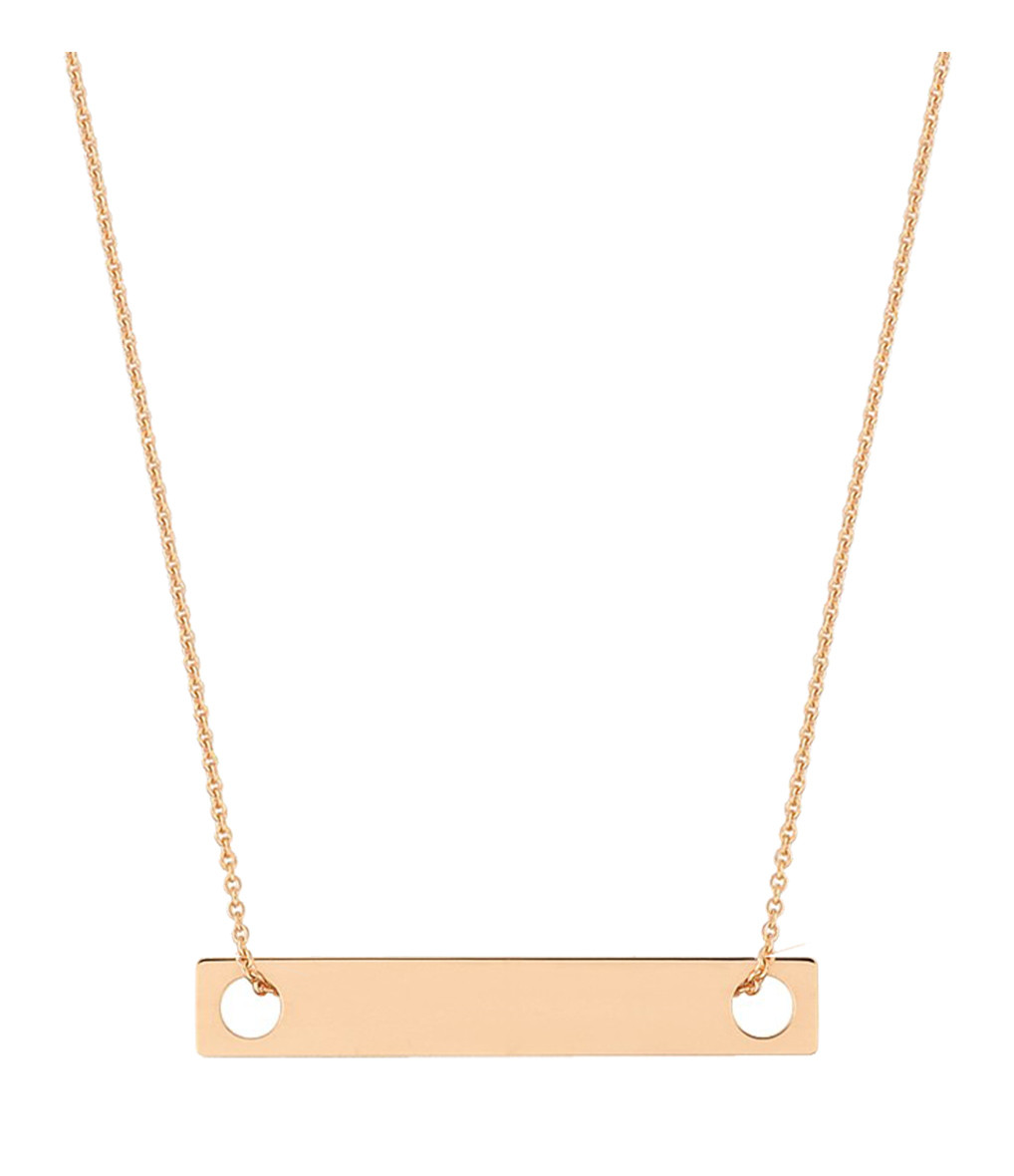Collier mini baguette - Ginette_ny