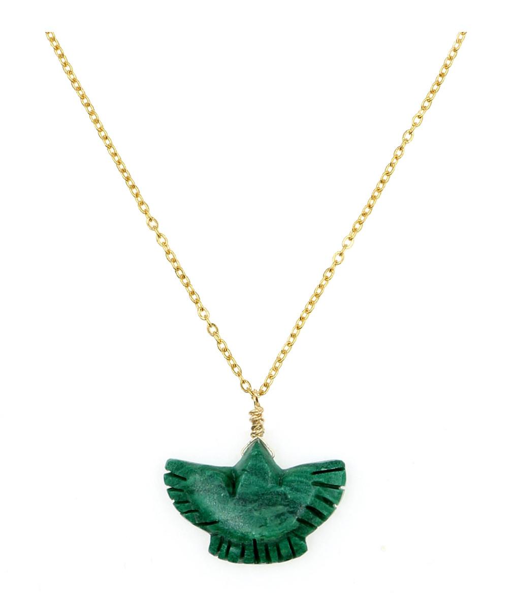 MON PRECIEUX GEM - Collier Condor Jade