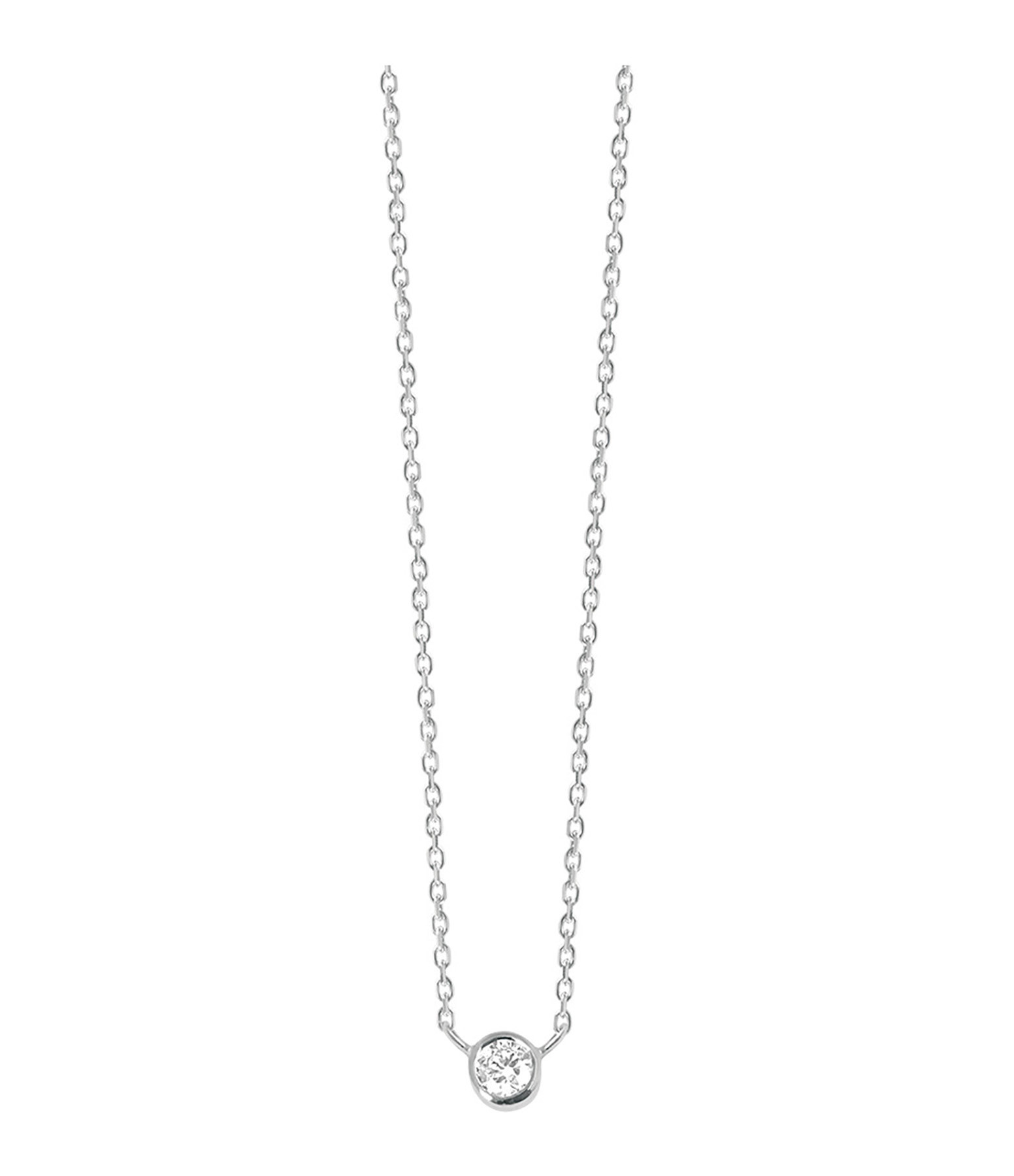 VANRYCKE - Collier One Or Blanc Diamant