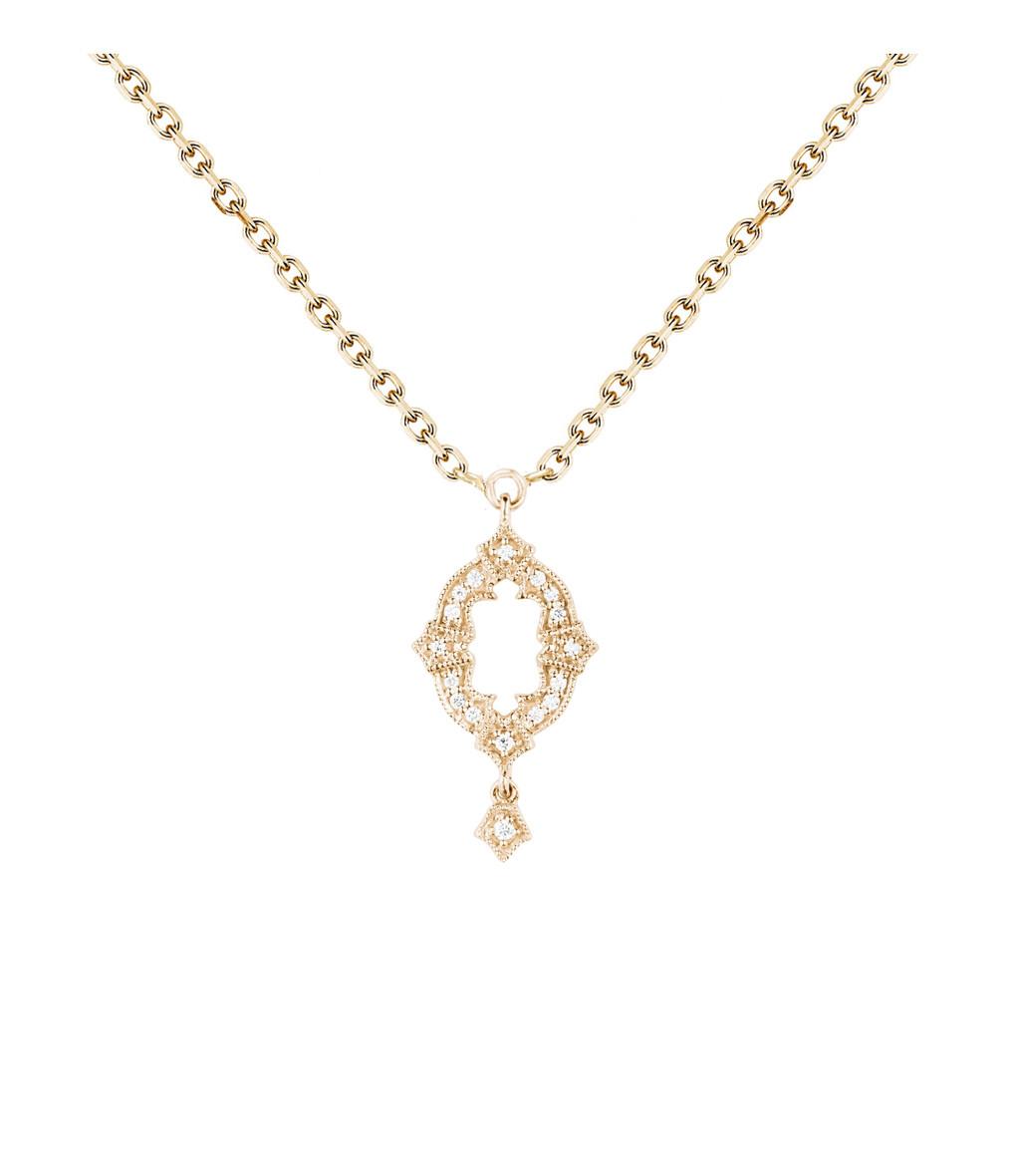 Collier Ava Or Diamants - STONE