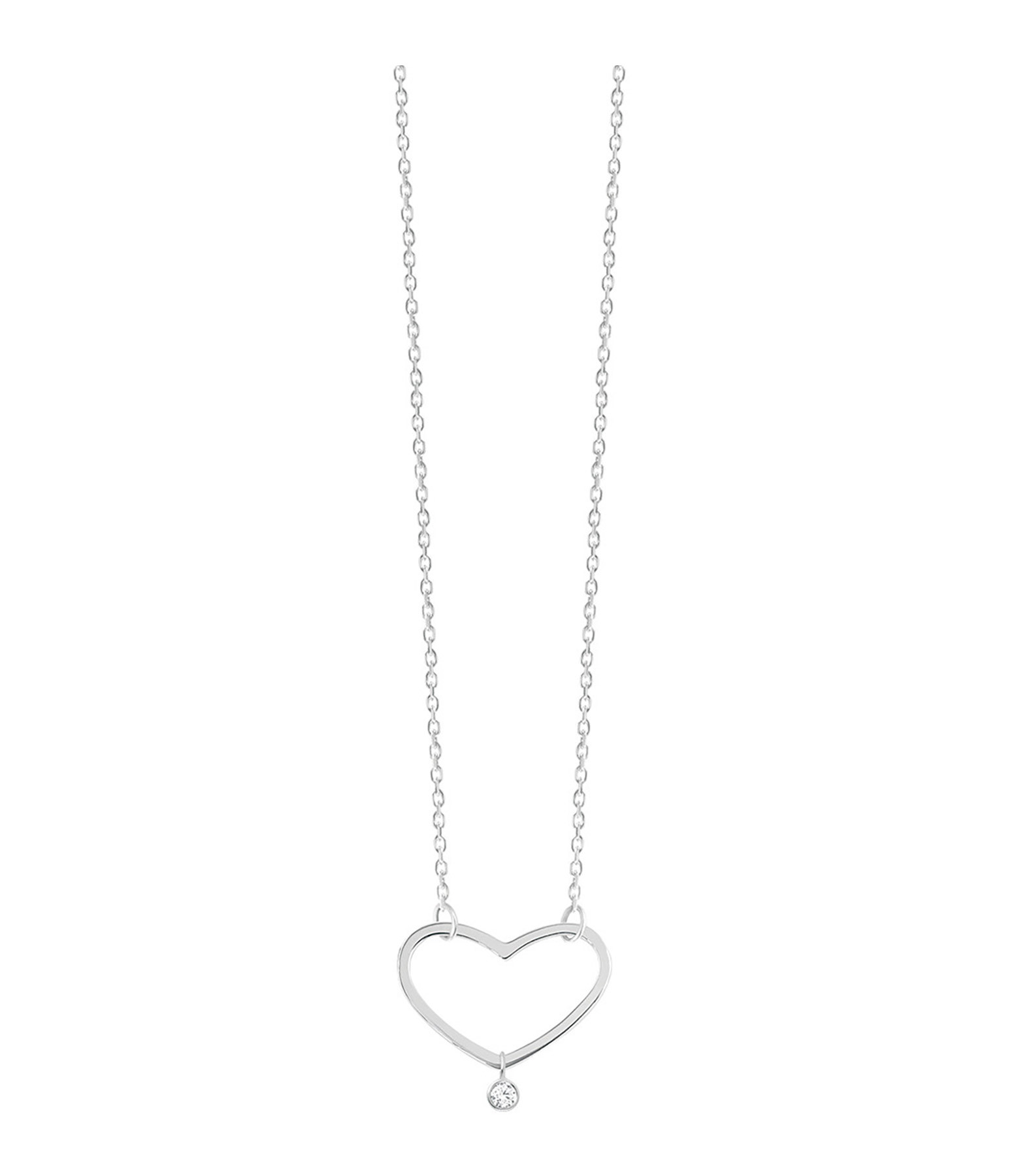 VANRYCKE - Collier Angie Or Blanc Diamant S