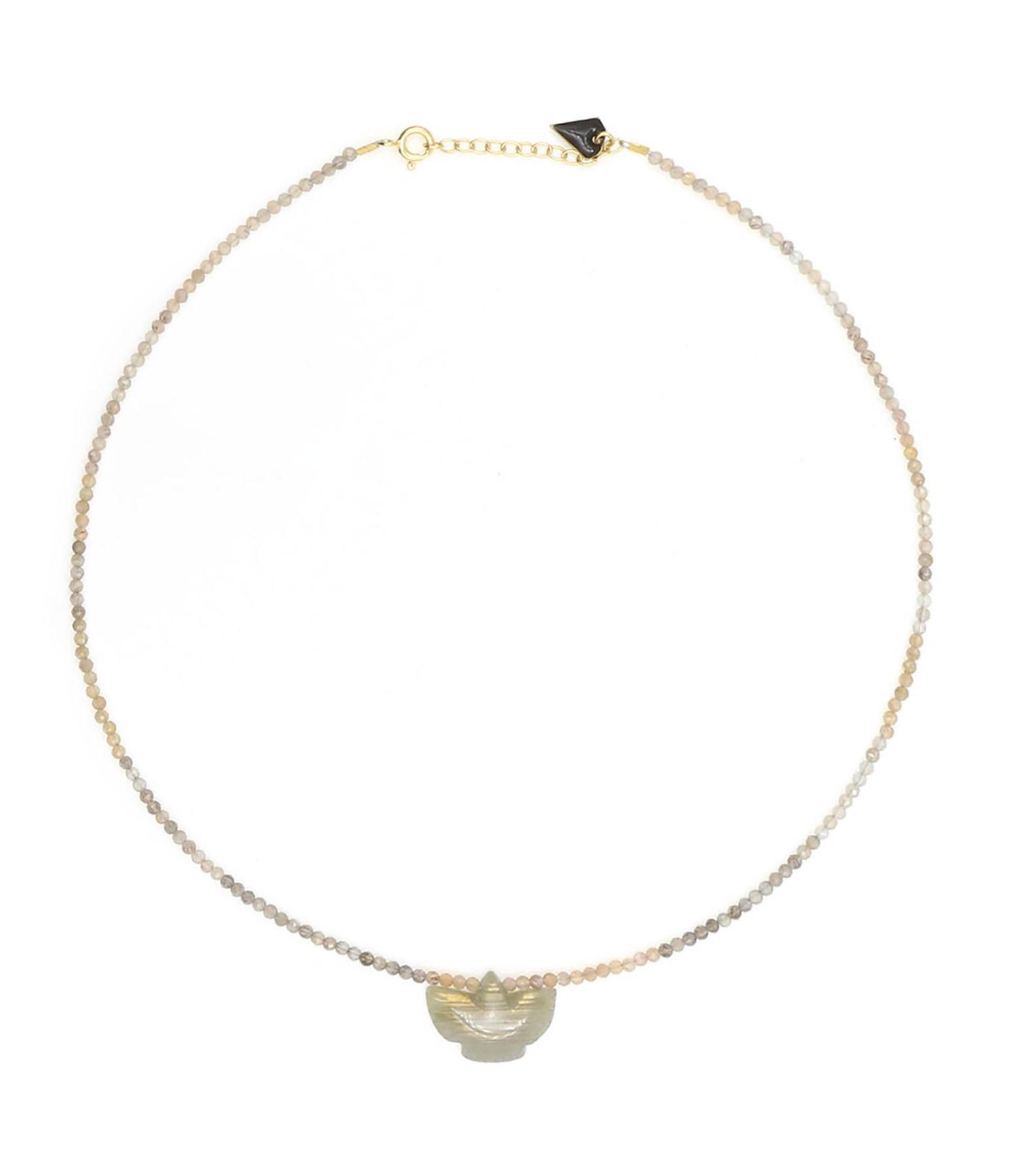 MON PRECIEUX GEM - Collier Condor Perles Labradorite
