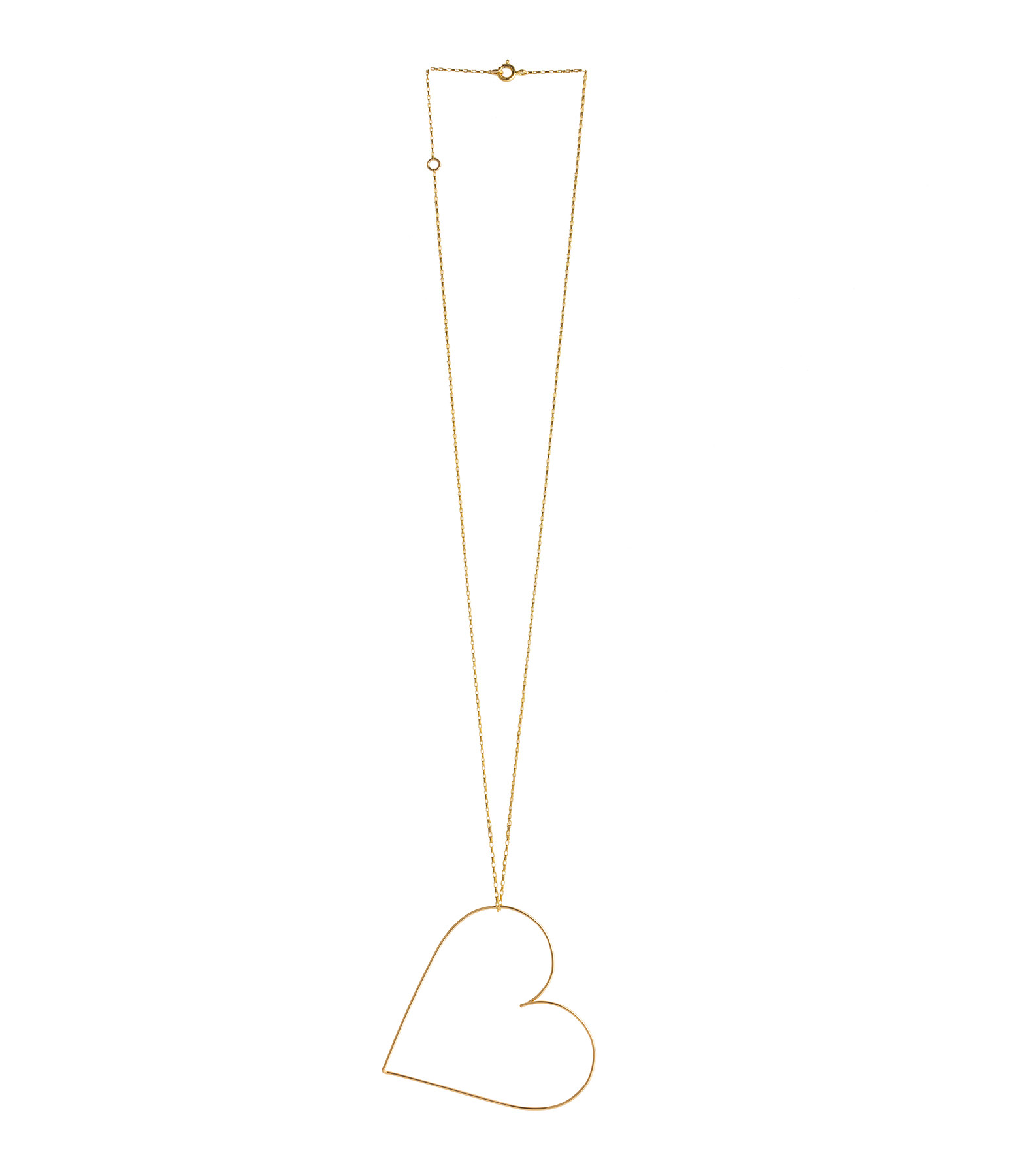 ATELIER PAULIN - Collier Mini Coeur Nude Gold Filled 14K