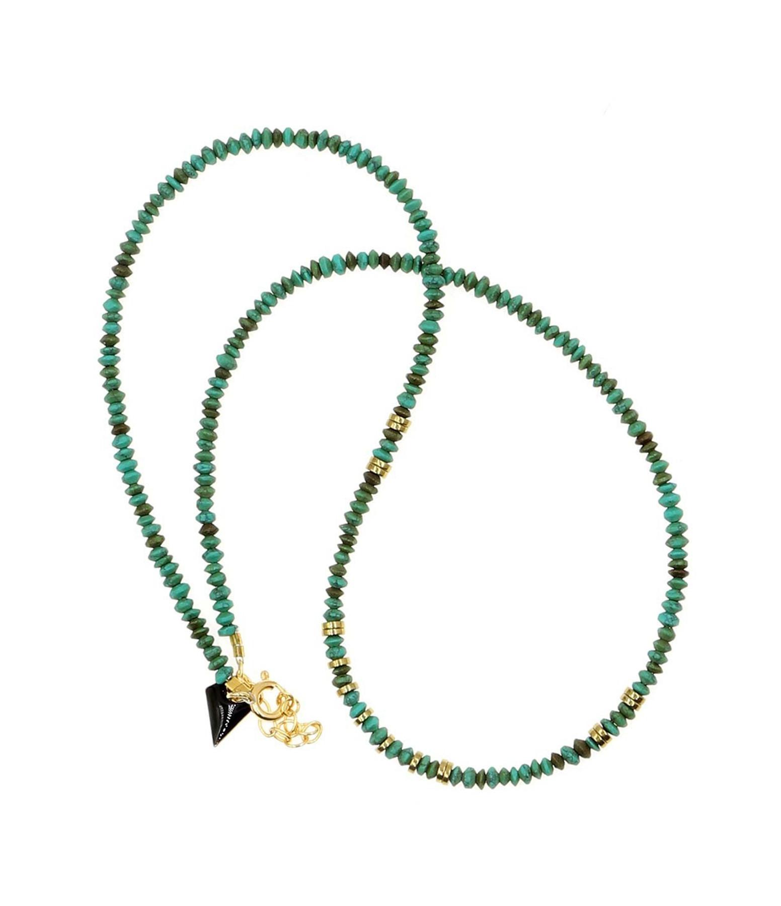 MON PRECIEUX GEM - Collier Puka Turquoise