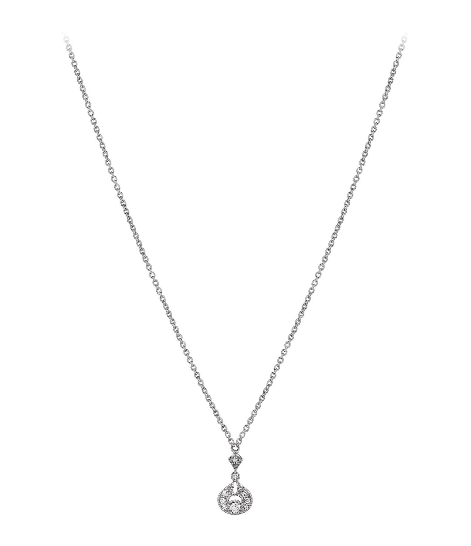 STONE PARIS - Collier Rêveuse Diamants Or Noir