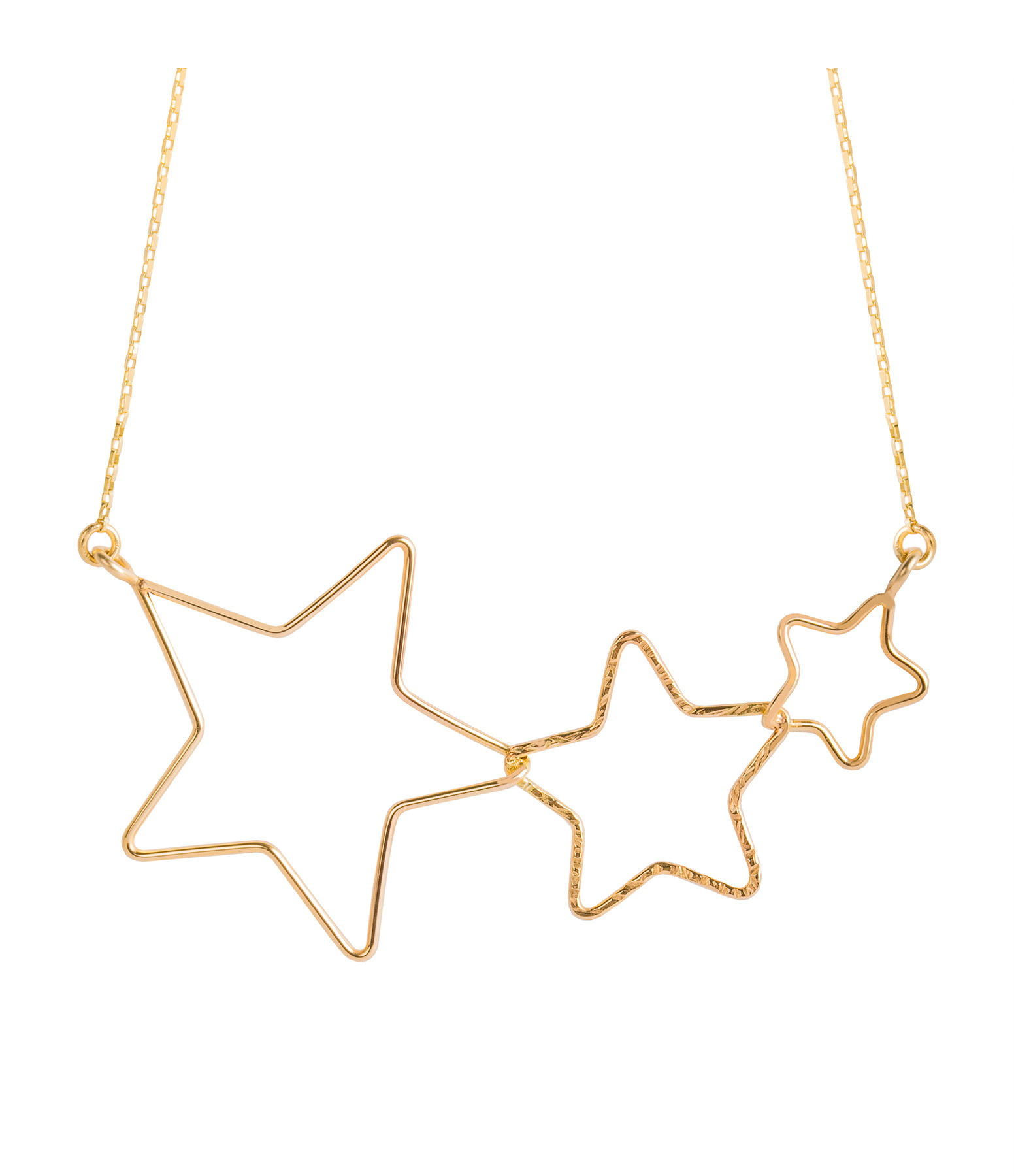 ATELIER PAULIN - Collier Stardust Milky Way Gold Filled 14K
