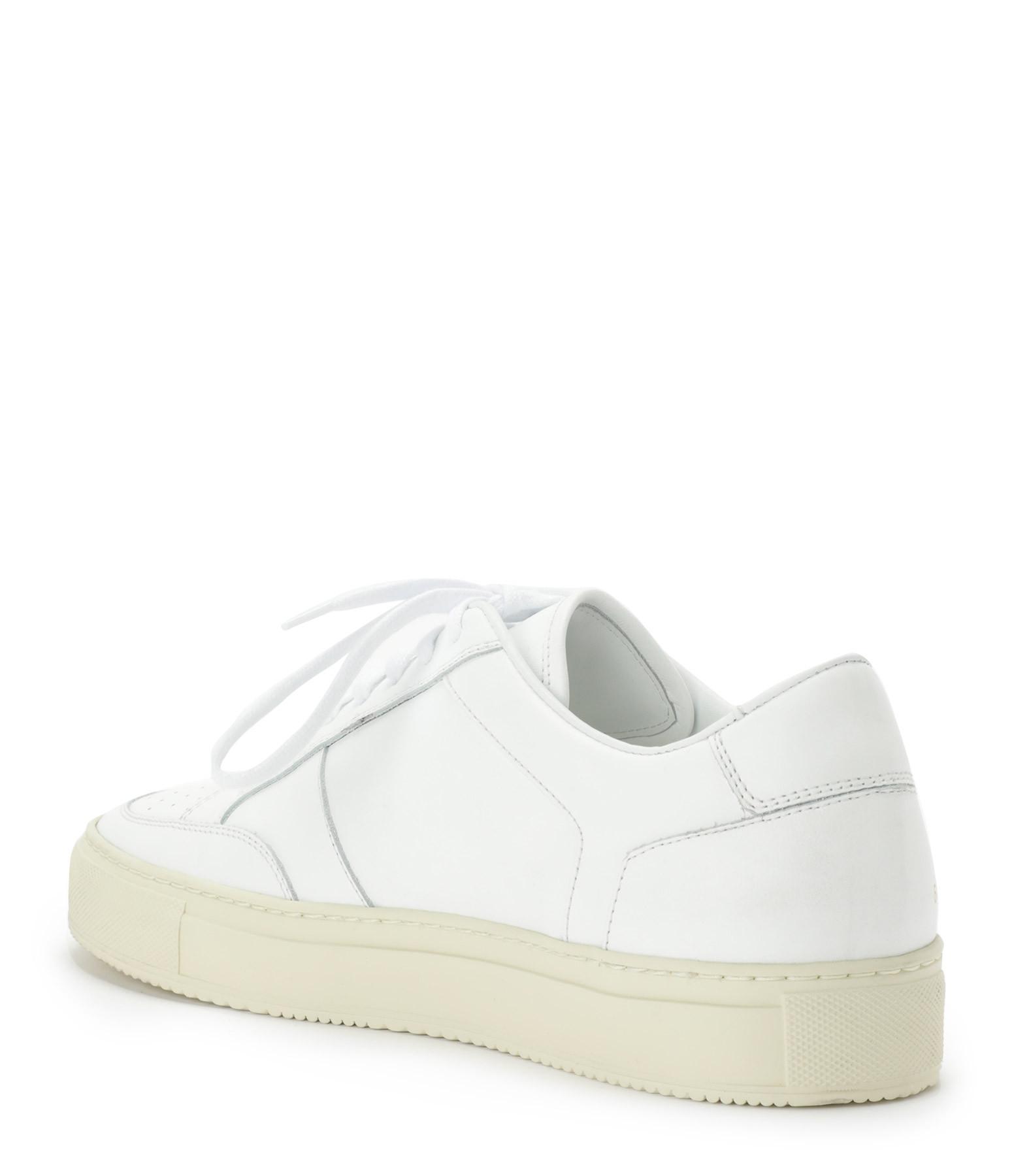 COMMON PROJECTS - Baskets Zeus Prototype Cuir Blanc