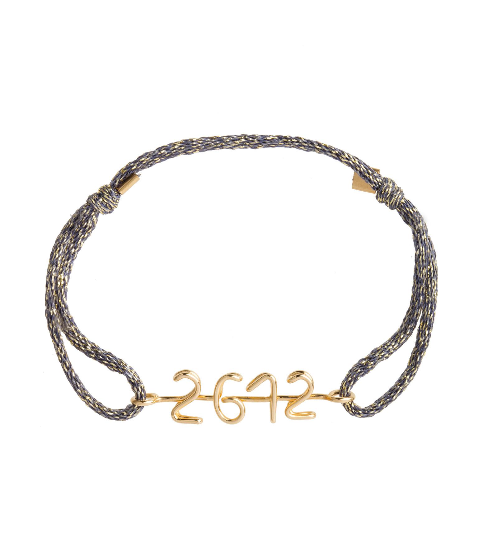 ATELIER PAULIN - Bracelet Original Le Temps Lurex GF14K