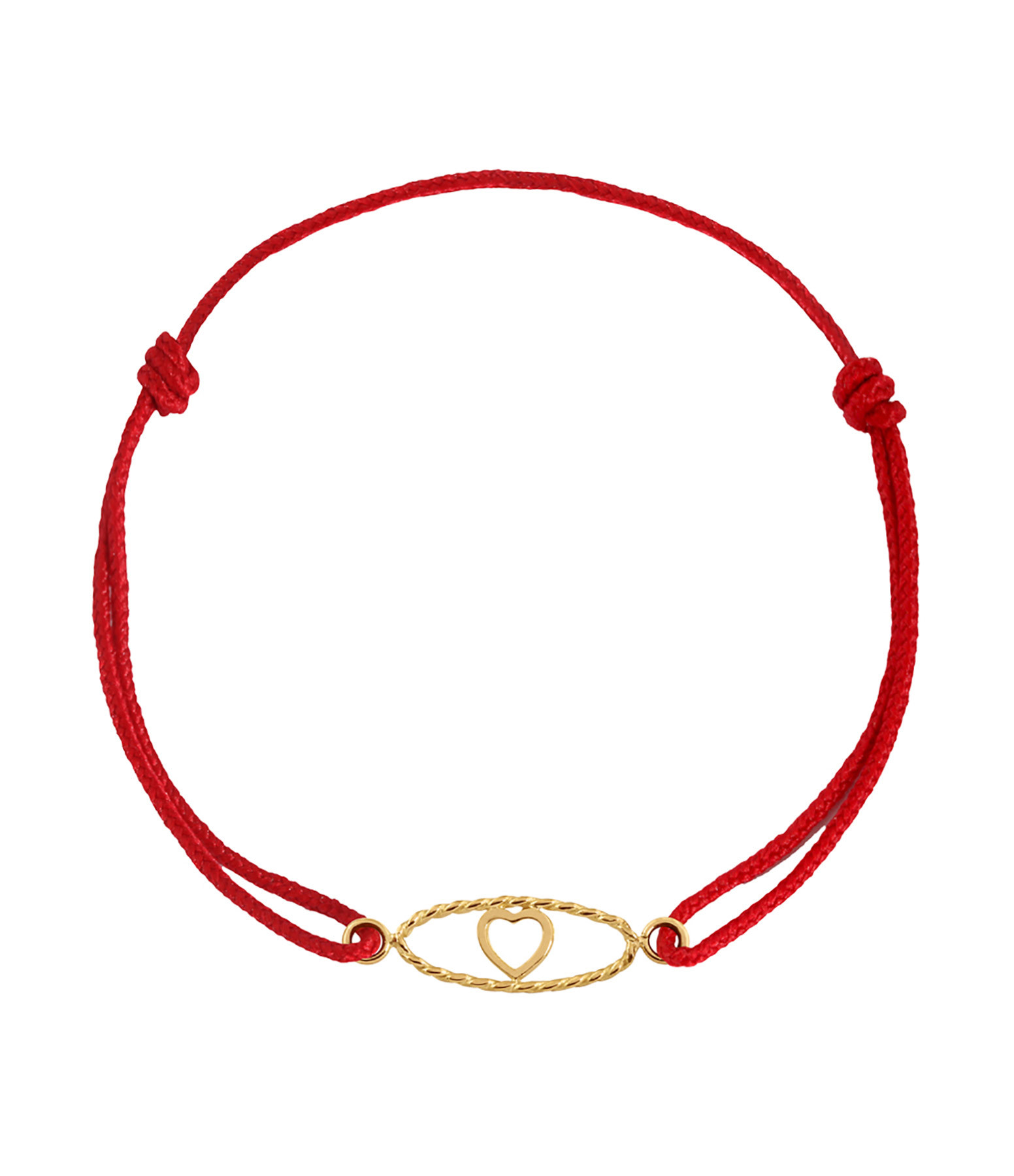 CHARLET - Bracelet Divine Iris GM Cordon Cœur