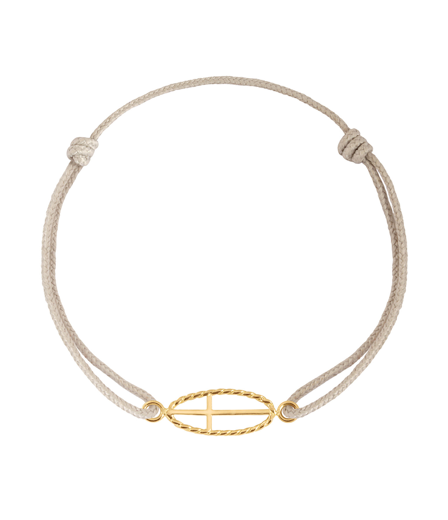 CHARLET - Bracelet Divine Iris GM Cordon Croix