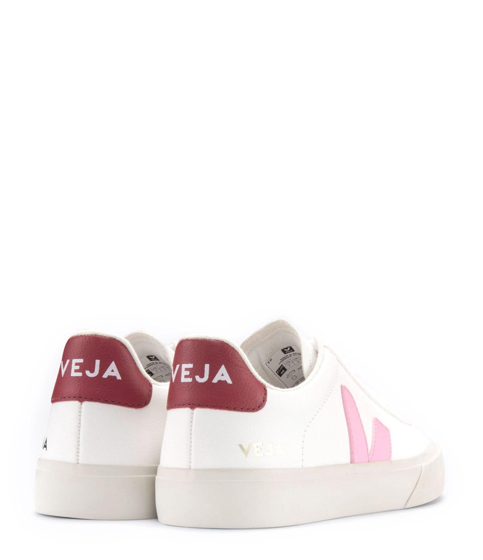 VEJA - Baskets Campo Chromefree Extra White Guimauve