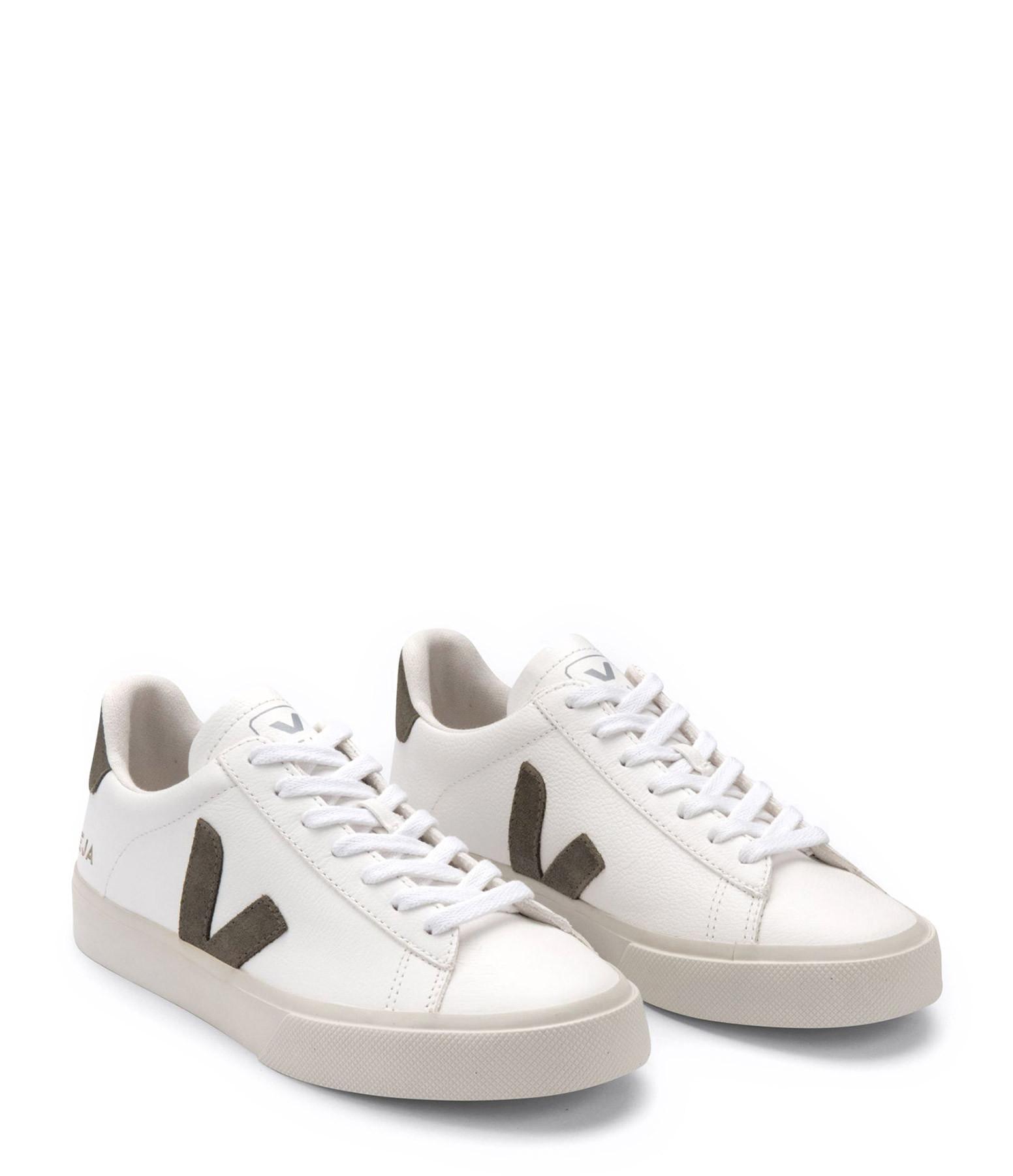 VEJA - Baskets Campo Chromefree Extra White Kaki