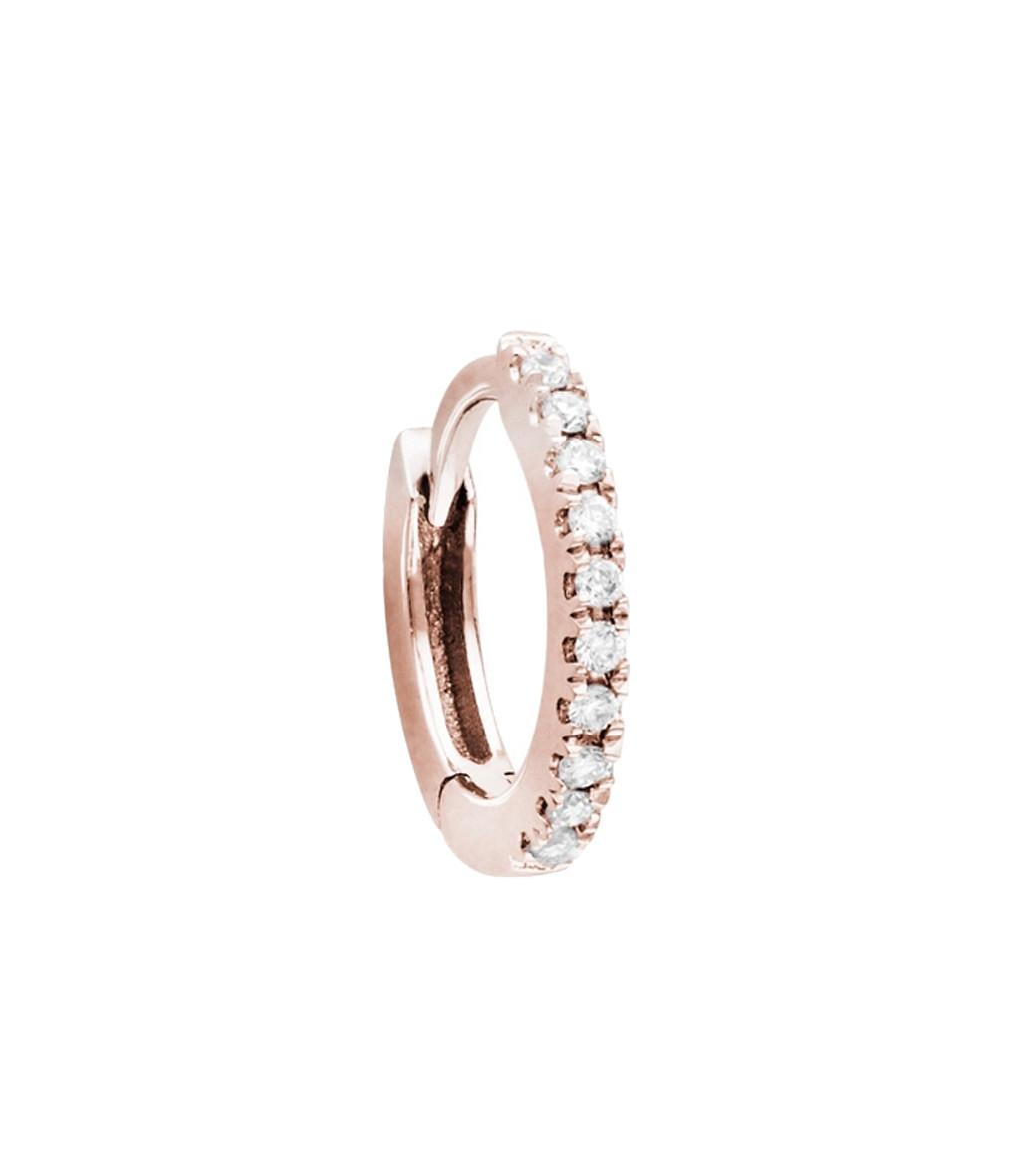 la meilleure attitude 484b7 30df1 Mini Créole Pavée Or Diamants (vendue à l'unité)
