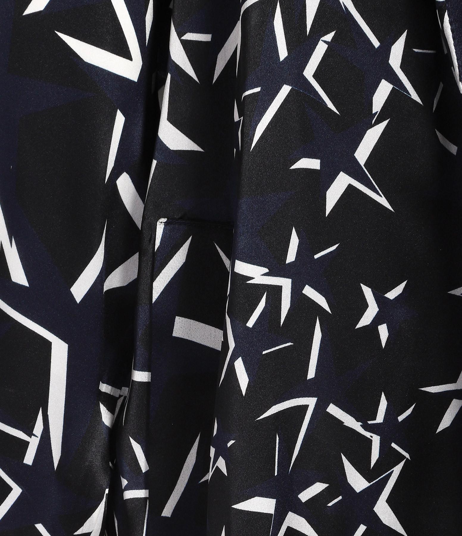 CAROLINA RITZLER - Manteau Sonat Soie Imprimé Etoile