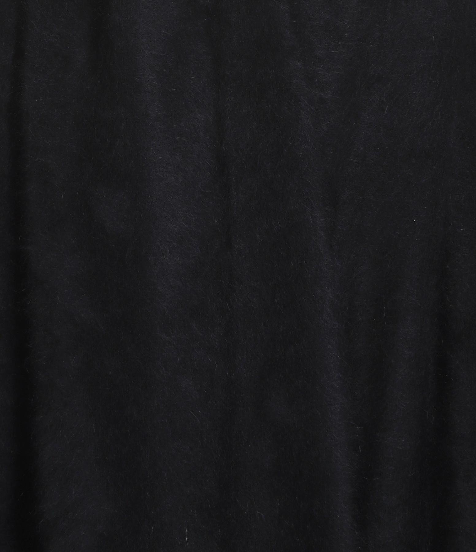 CT PLAGE - Gilet Long Raccoon Noir