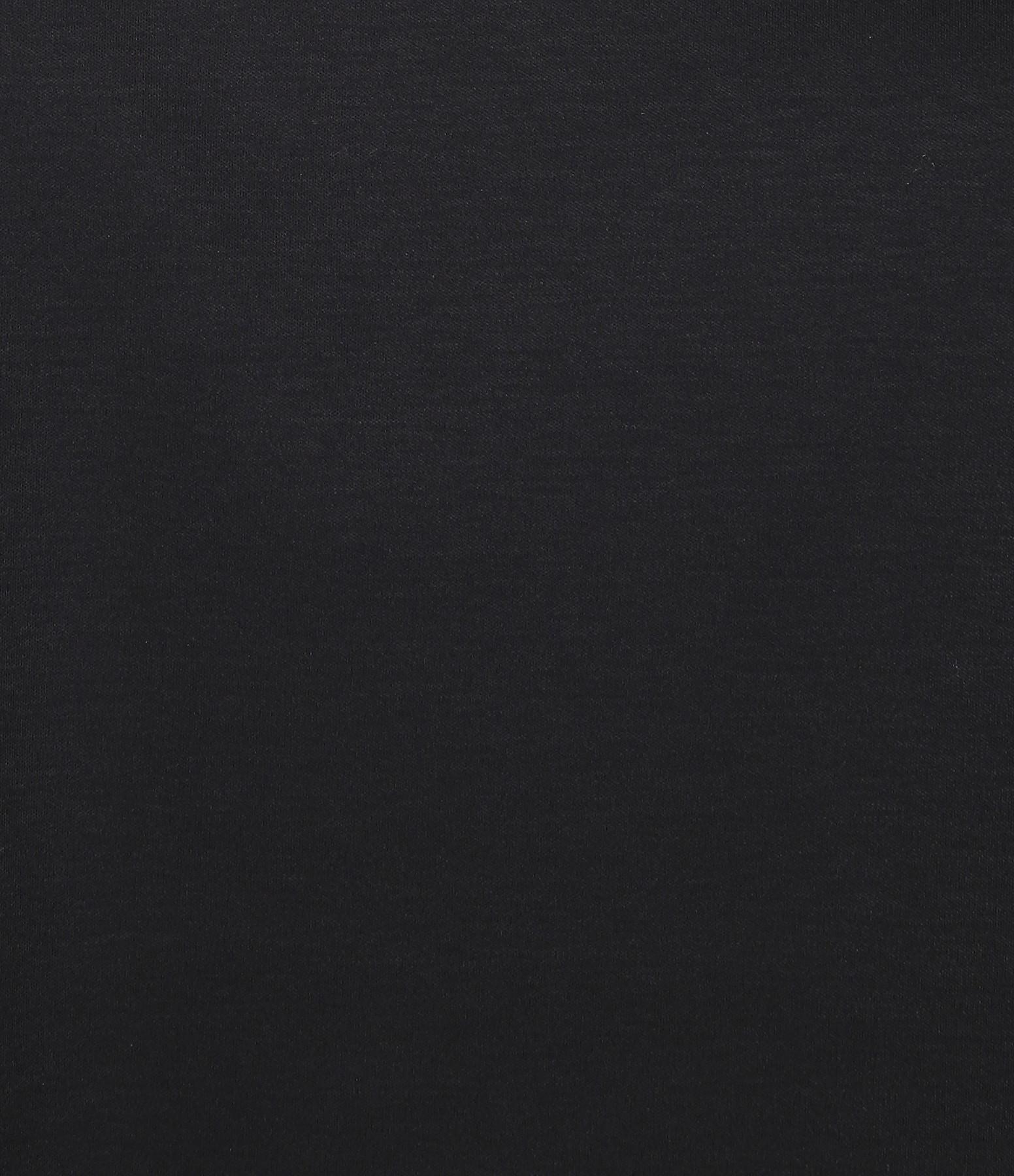 CT PLAGE - Robe Coton Noir