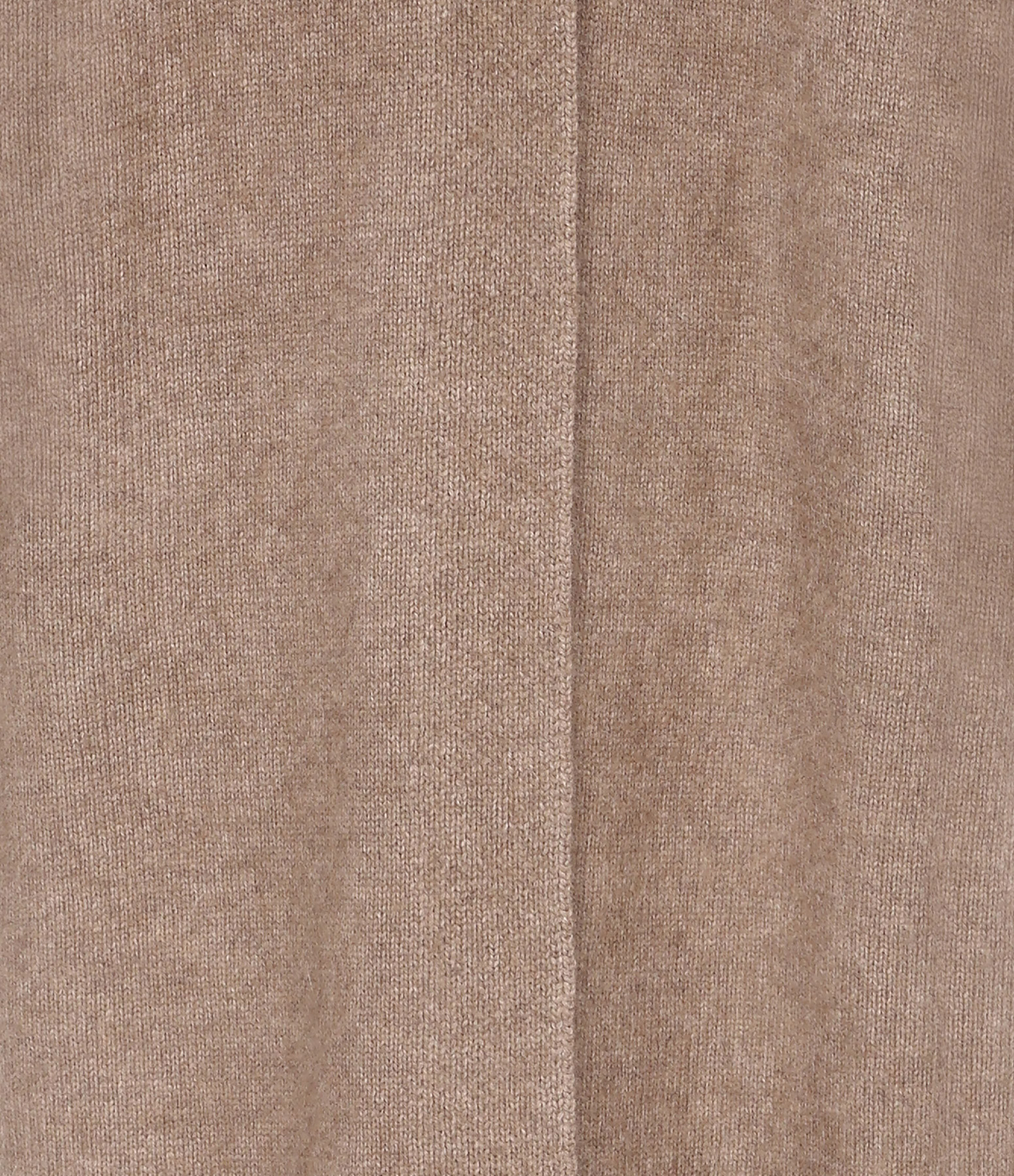 CT PLAGE - Gilet Long Laine Raccoon Beige