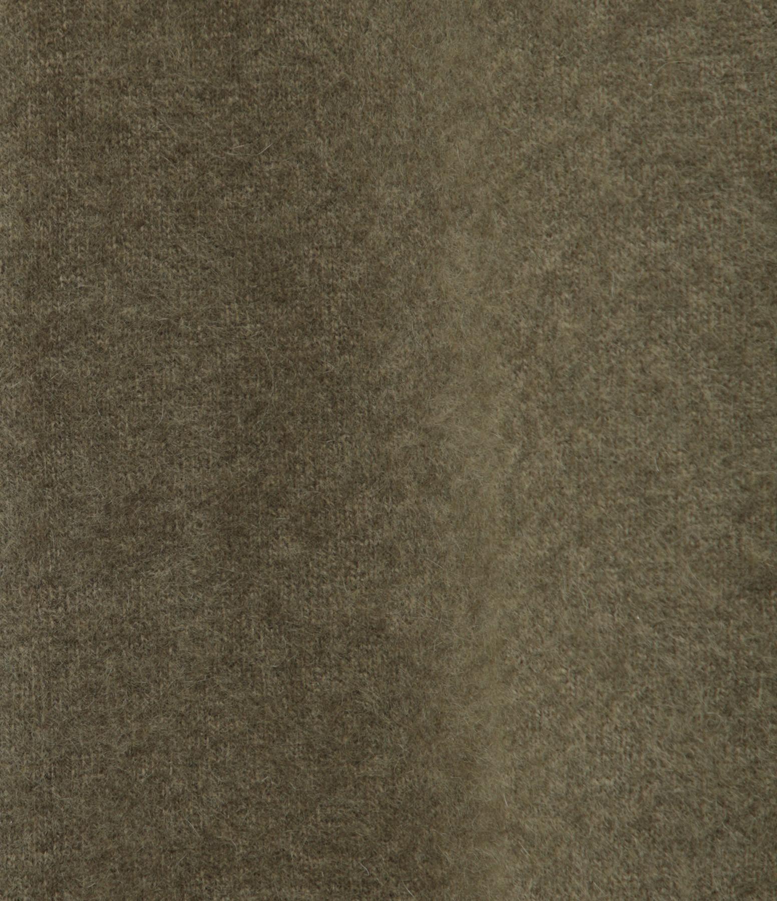 CT PLAGE - Gilet Long Raccoon Vert Olive