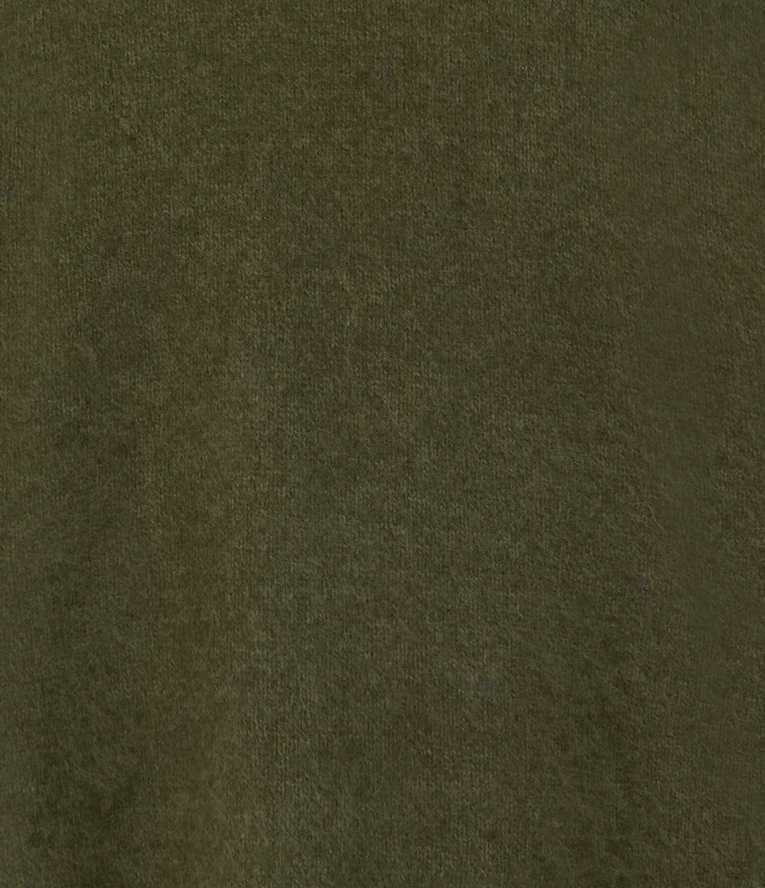 CT PLAGE - Pull Court Raccoon Vert Olive