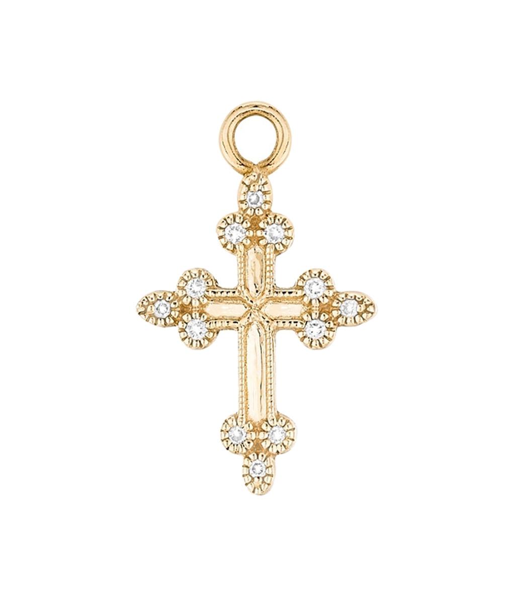 Charm Dévotion Or Diamants- Stone