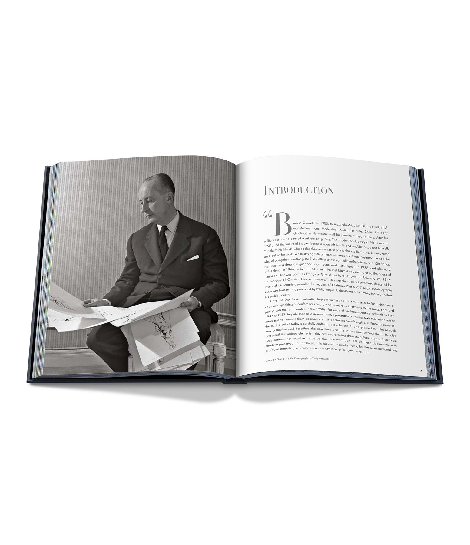 ASSOULINE - Livre Dior par Christian Dior, 1947-1957
