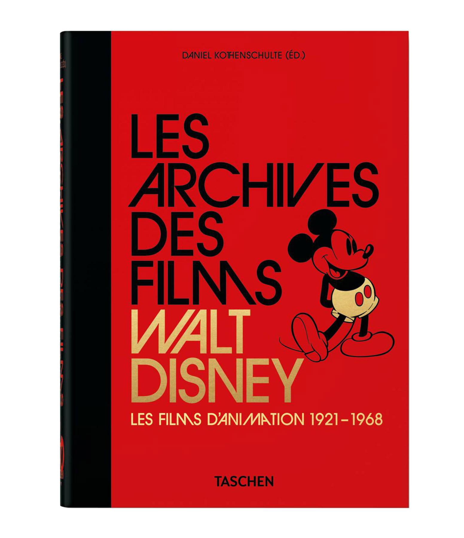 TASCHEN - Livre Les Archives des Films Walt Disney, Les Films d'Animation