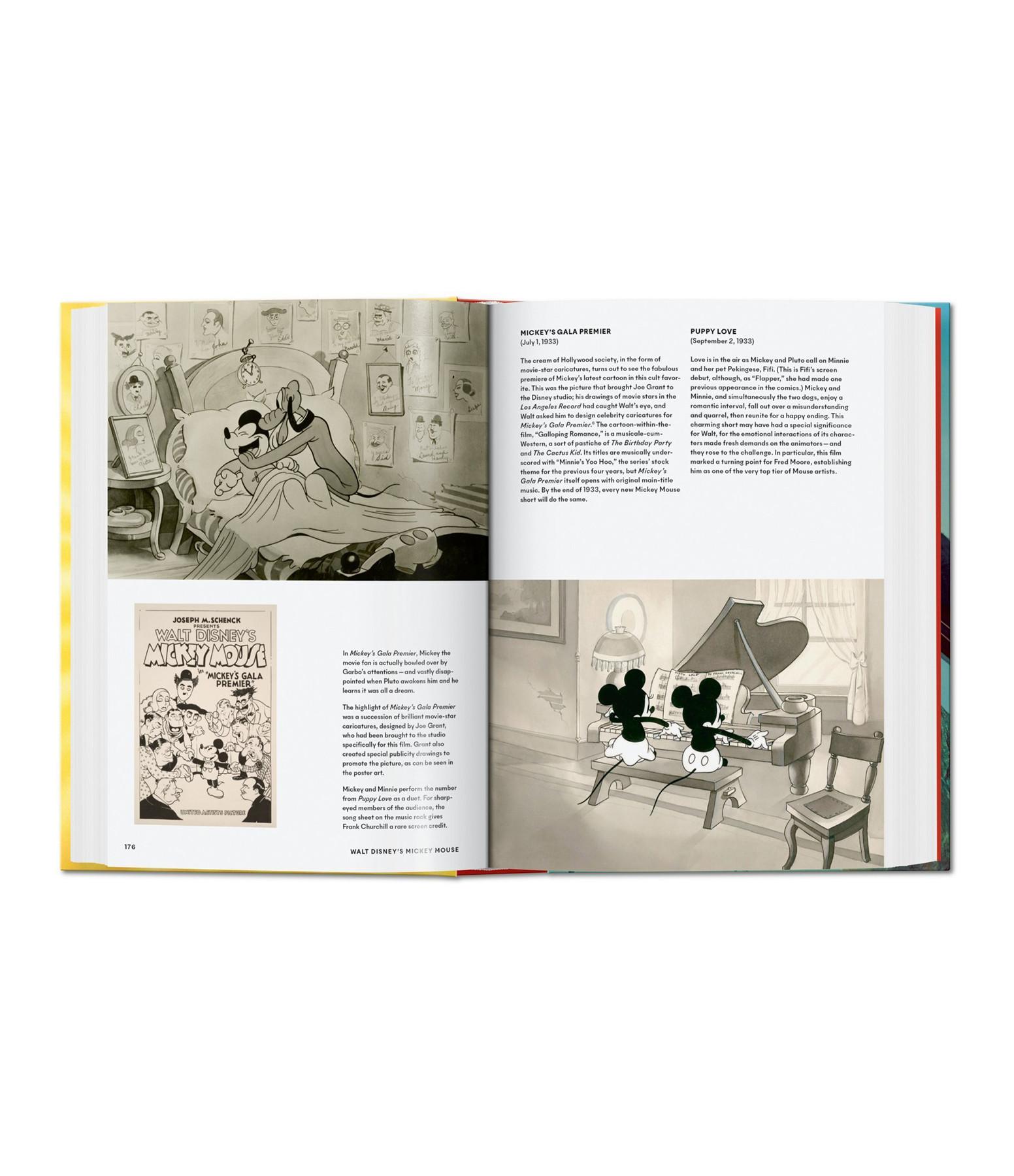 TASCHEN - Livre Walt Disney's Mickey Mouse. Toute L'Histoire