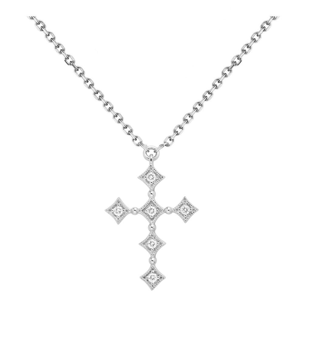 Collier Divine Or Diamants - STONE