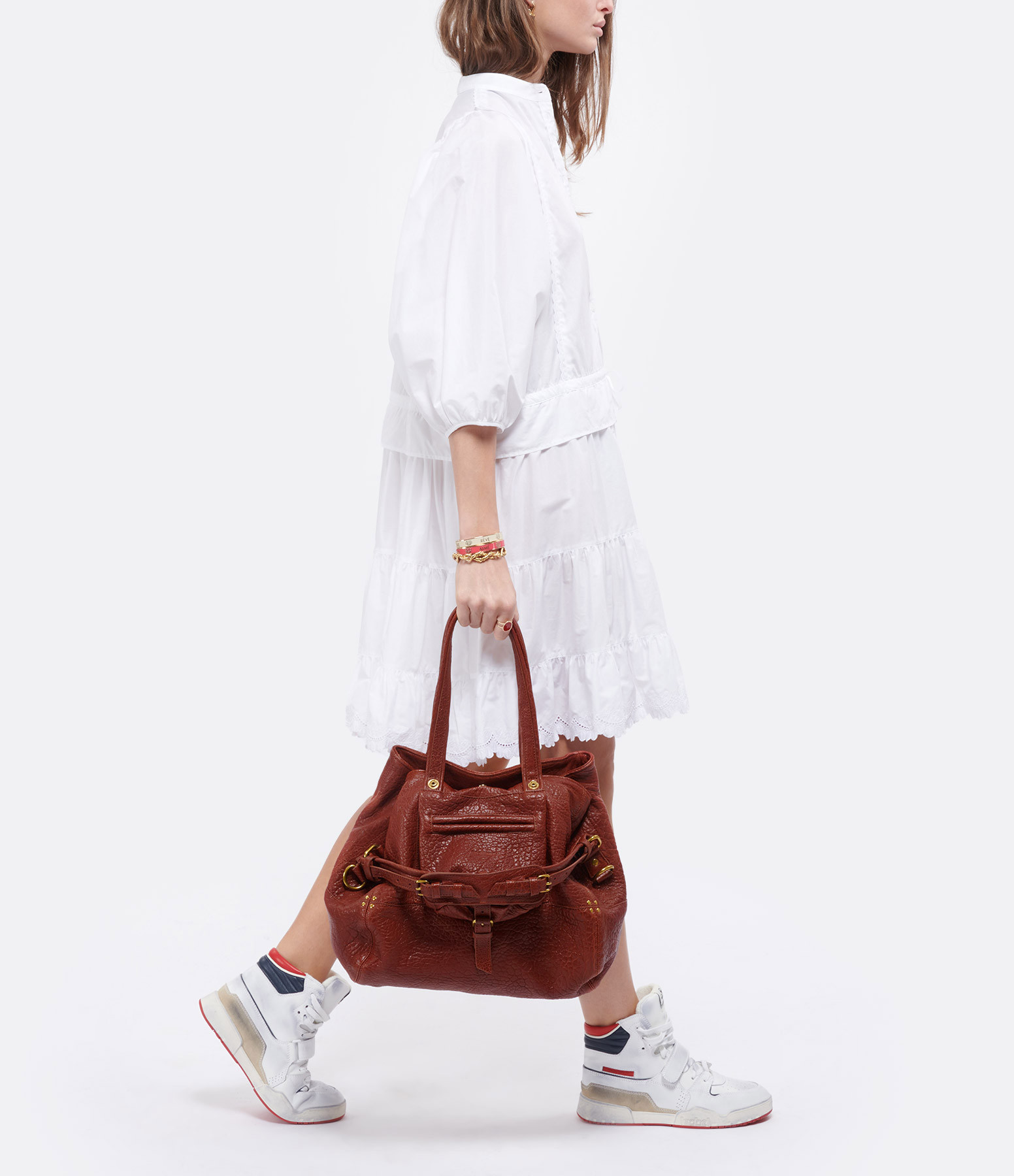 JEROME DREYFUSS - Sac Billy M Agneau Old Red