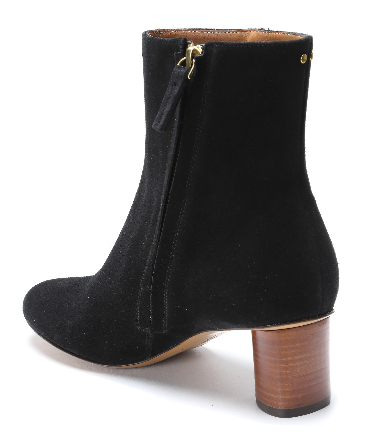 JEROME DREYFUSS - Bottines Patricia 50 Vachette Noir