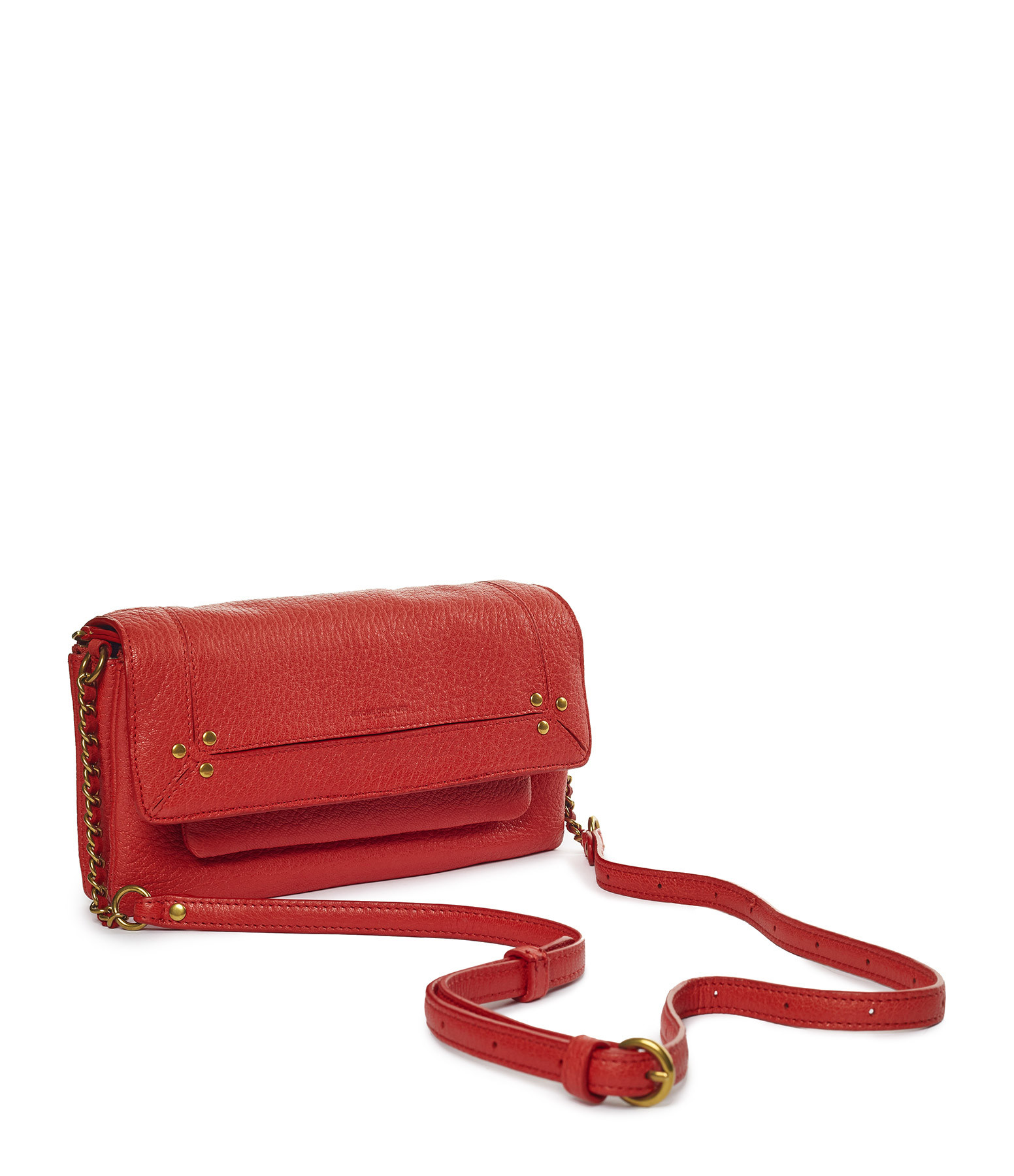 JEROME DREYFUSS - Sac Charly S Chèvre Rouge